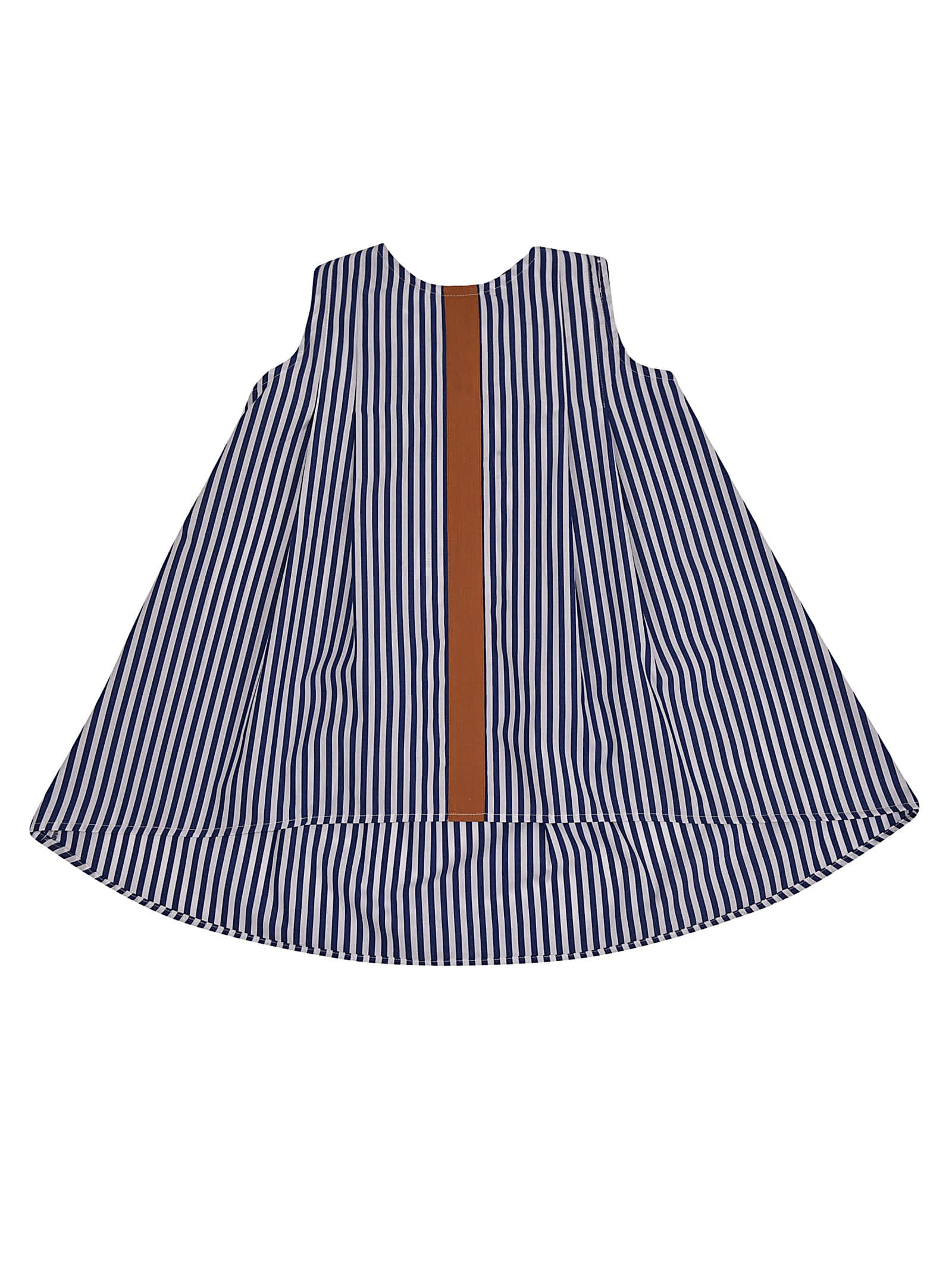 Buy Giro Quadro Striped Dress online, shop Giro Quadro with free shipping
