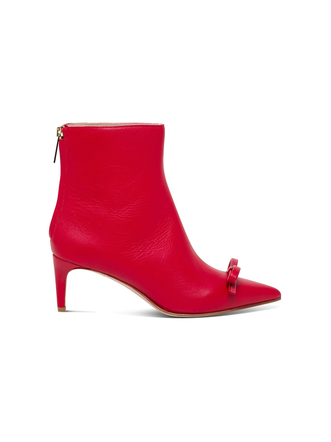 Red Valentino BOOTIE H60 WITH METAL DETAIL