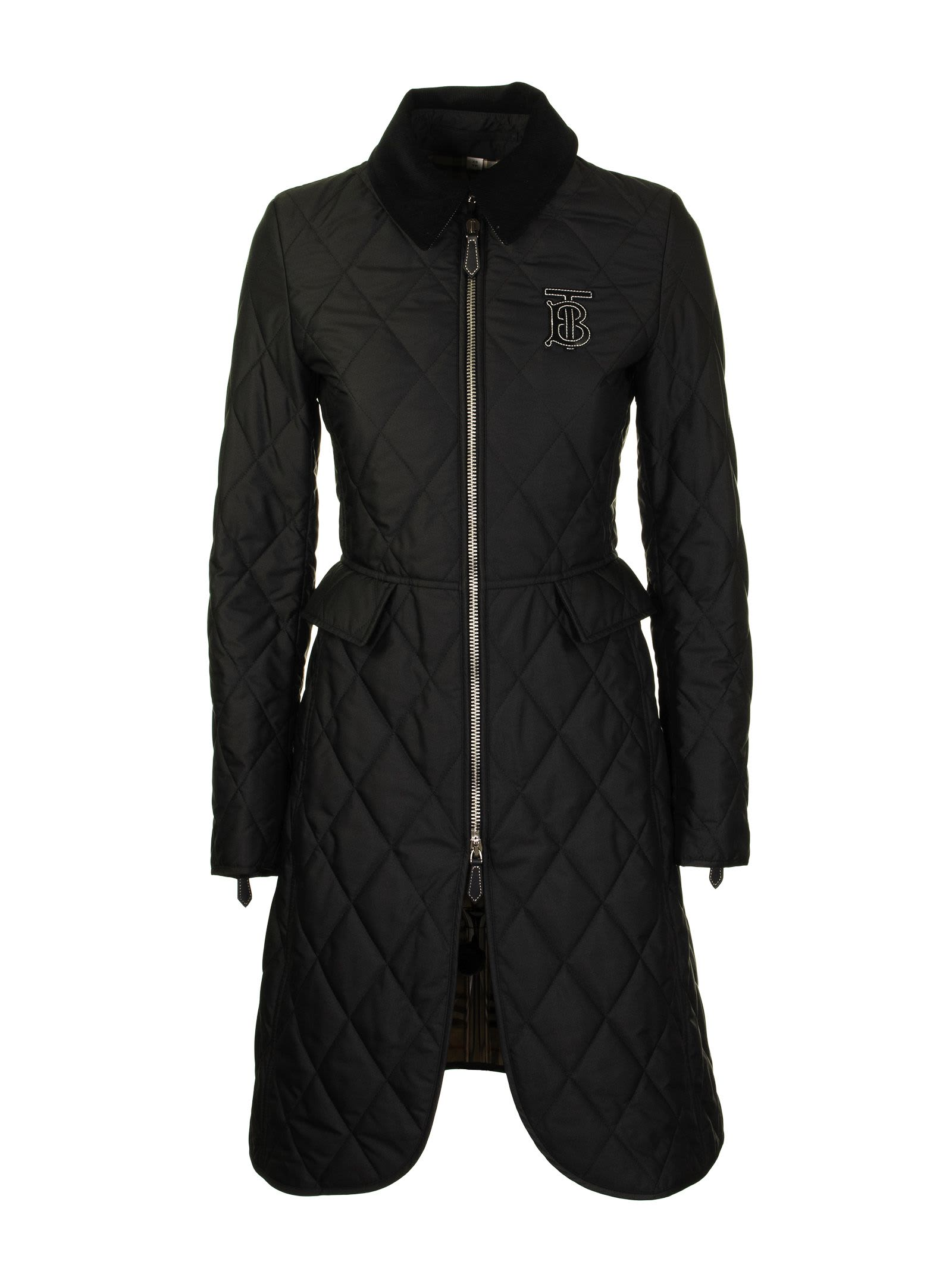 Photo of  Burberry Ongar Long Black- shop Burberry jackets online sales