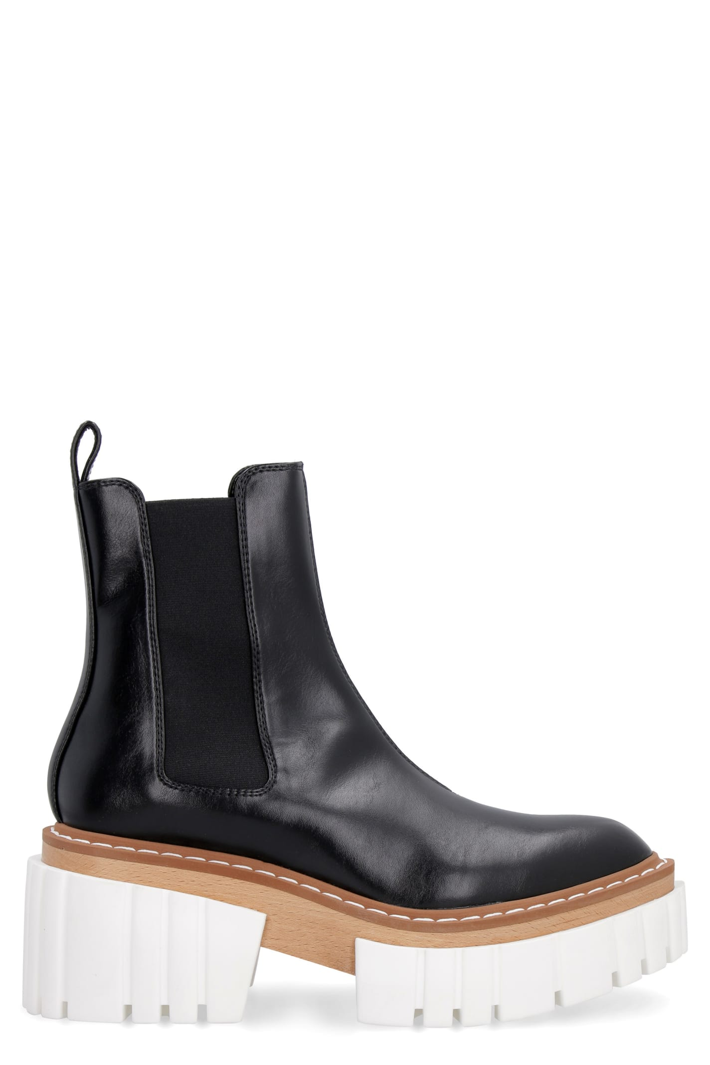 Stella Mccartney Platforms EMILIE WEDGE ANKLE BOOTS