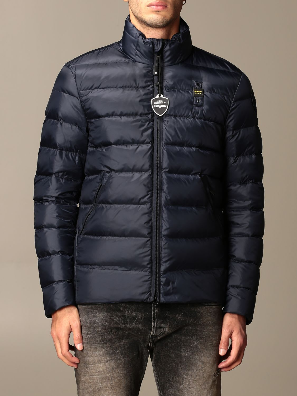 Blauer Jacket Blauer Light Down Jacket In Semi-glossy Nylon