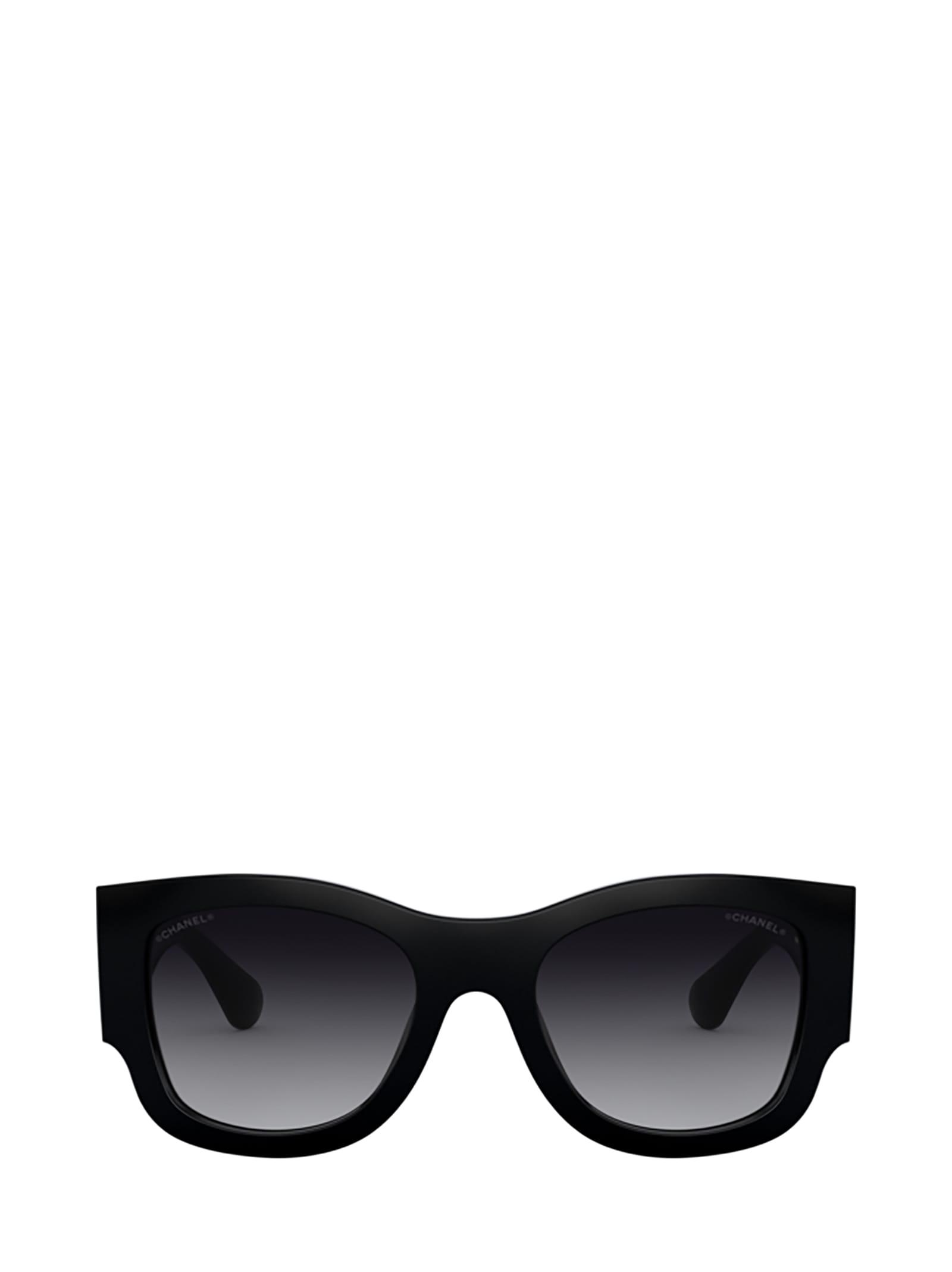 Chanel Chanel Ch5421b Black Sunglasses