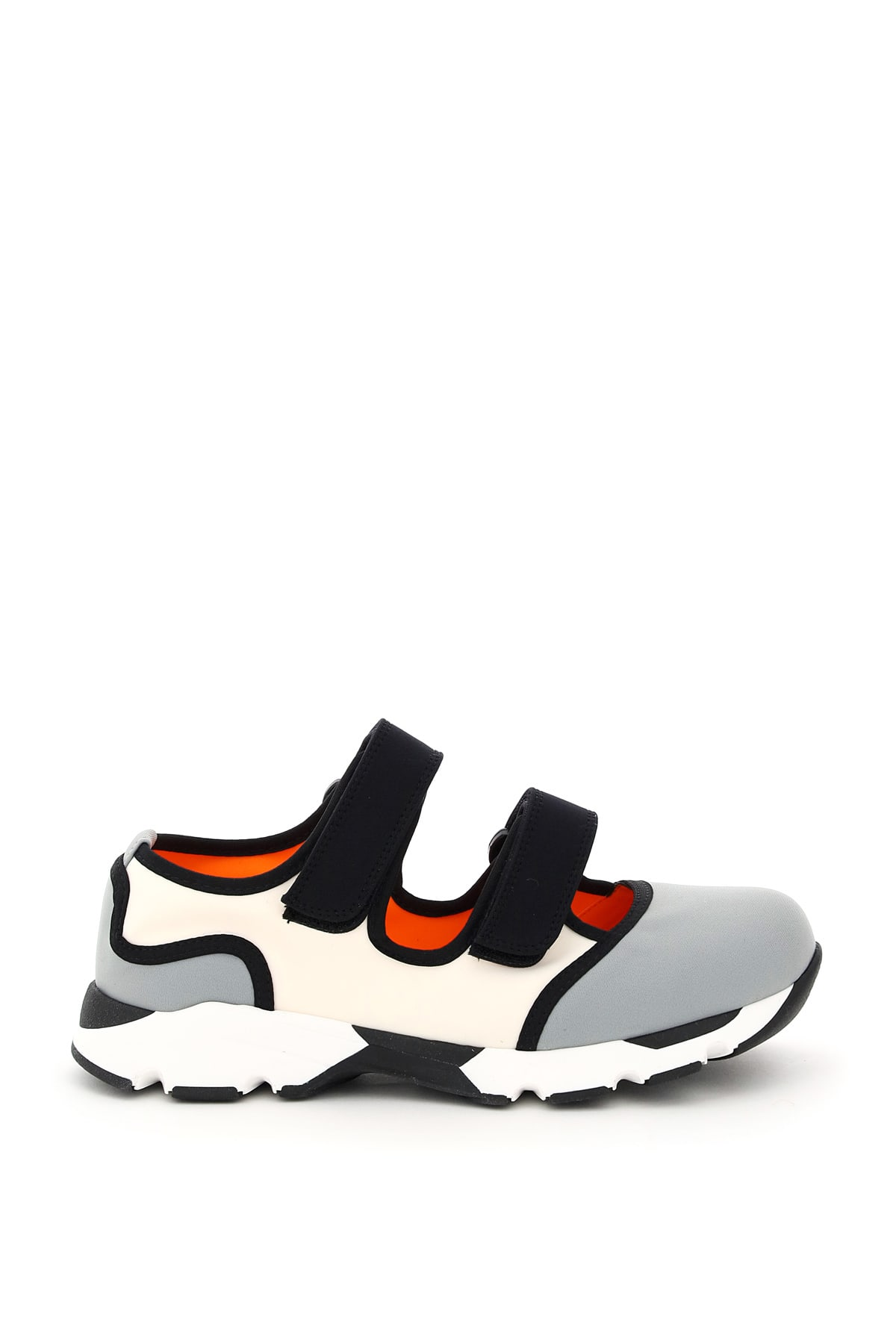 MARNI MULTICOLOR DOUBLE STRAP SNEAKERS