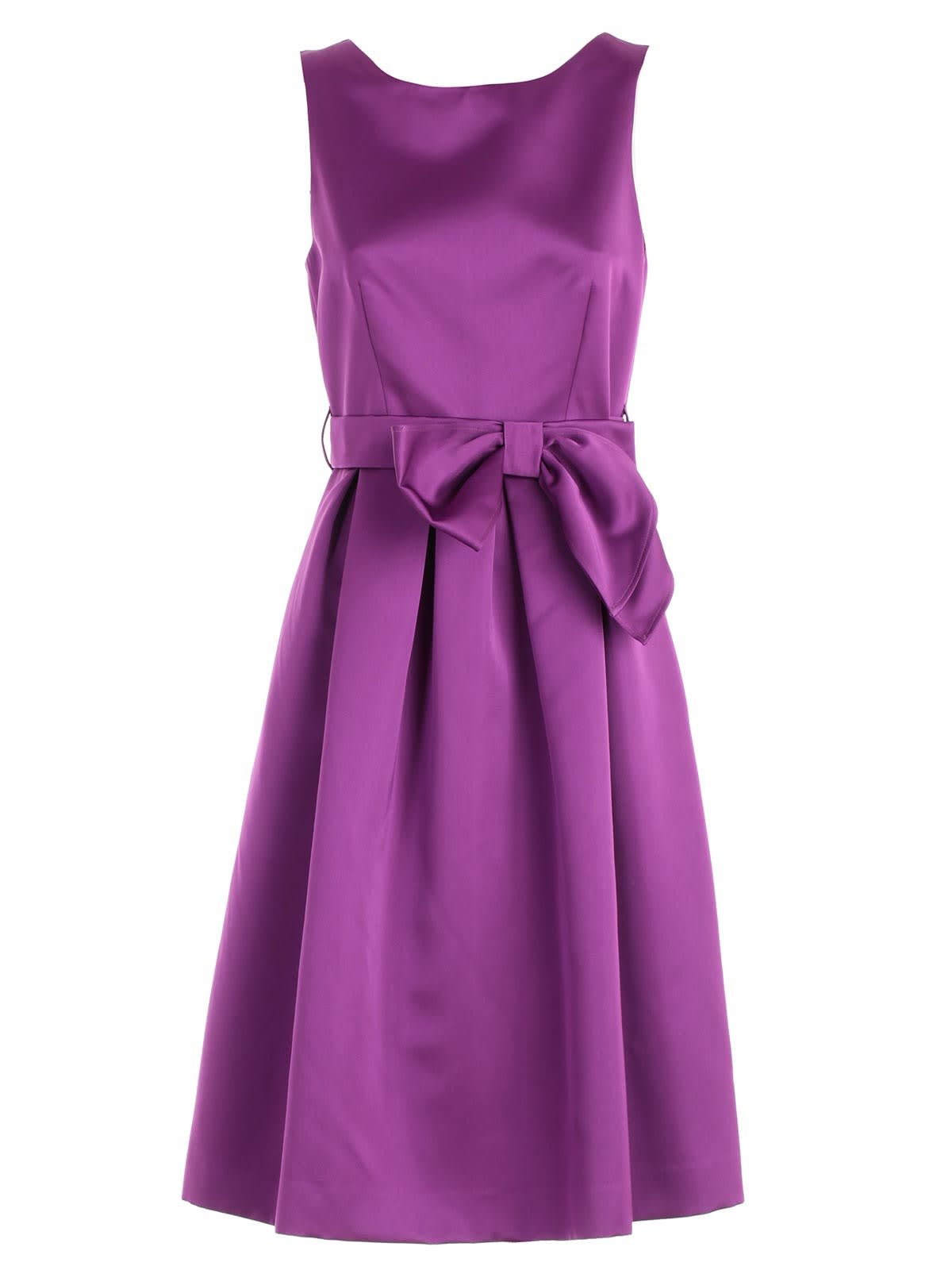 Buy Parosh Bow Party Dress online, shop Parosh with free shipping
