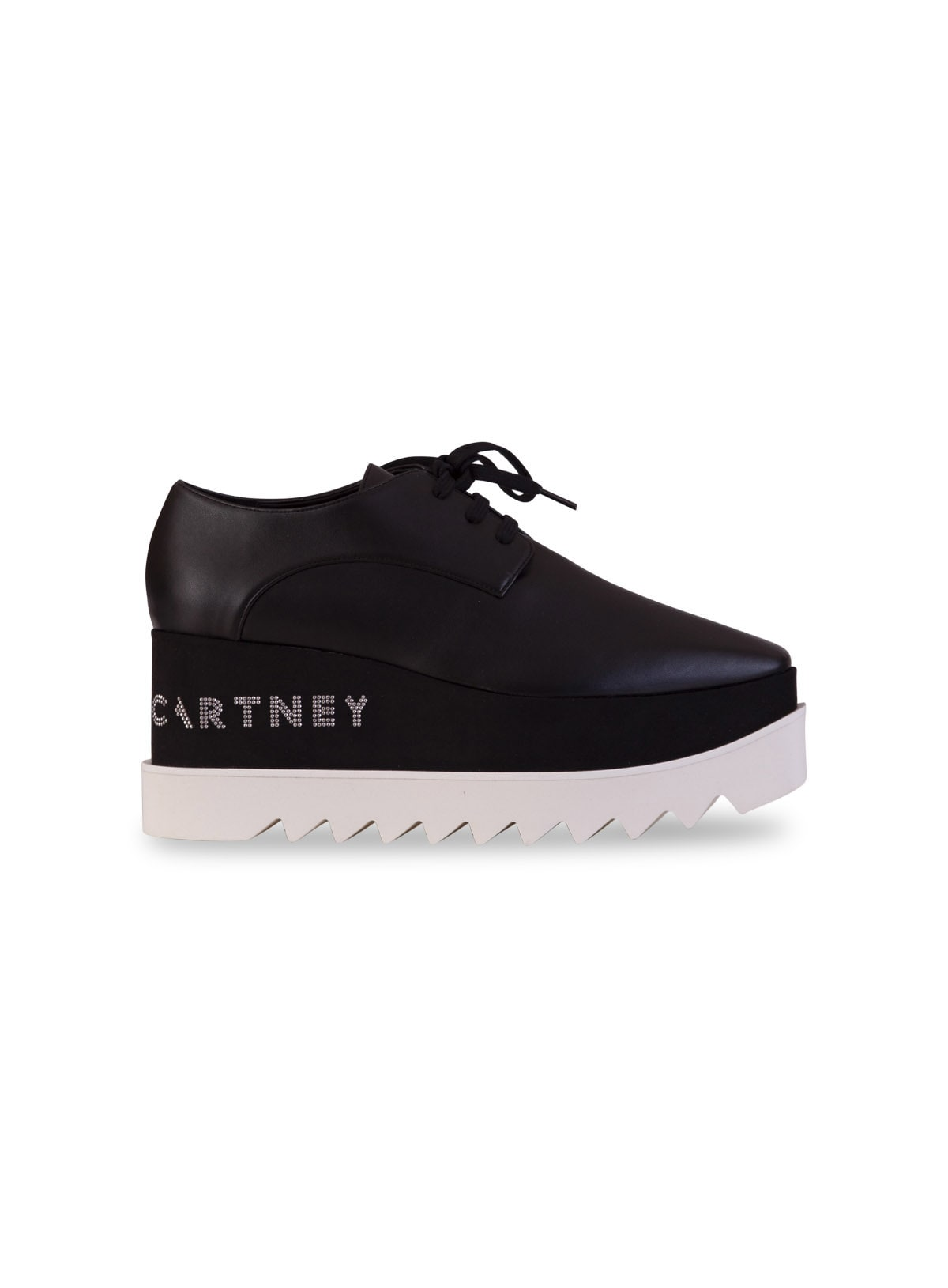 Stella McCartney Logo Platform Derby Shoes