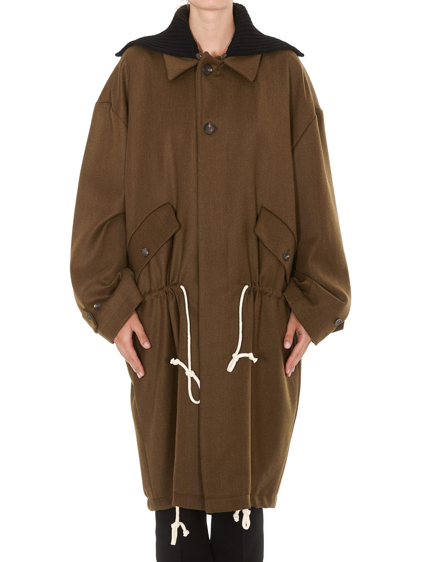 Plan C Long Parka Coat