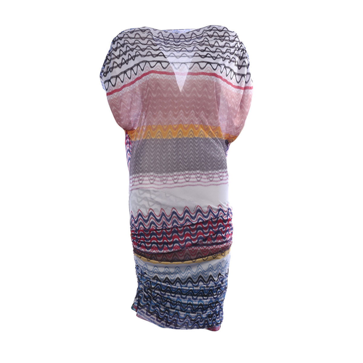 Buy Missoni Sleeveless Wave Print Dress online, shop Missoni with free shipping