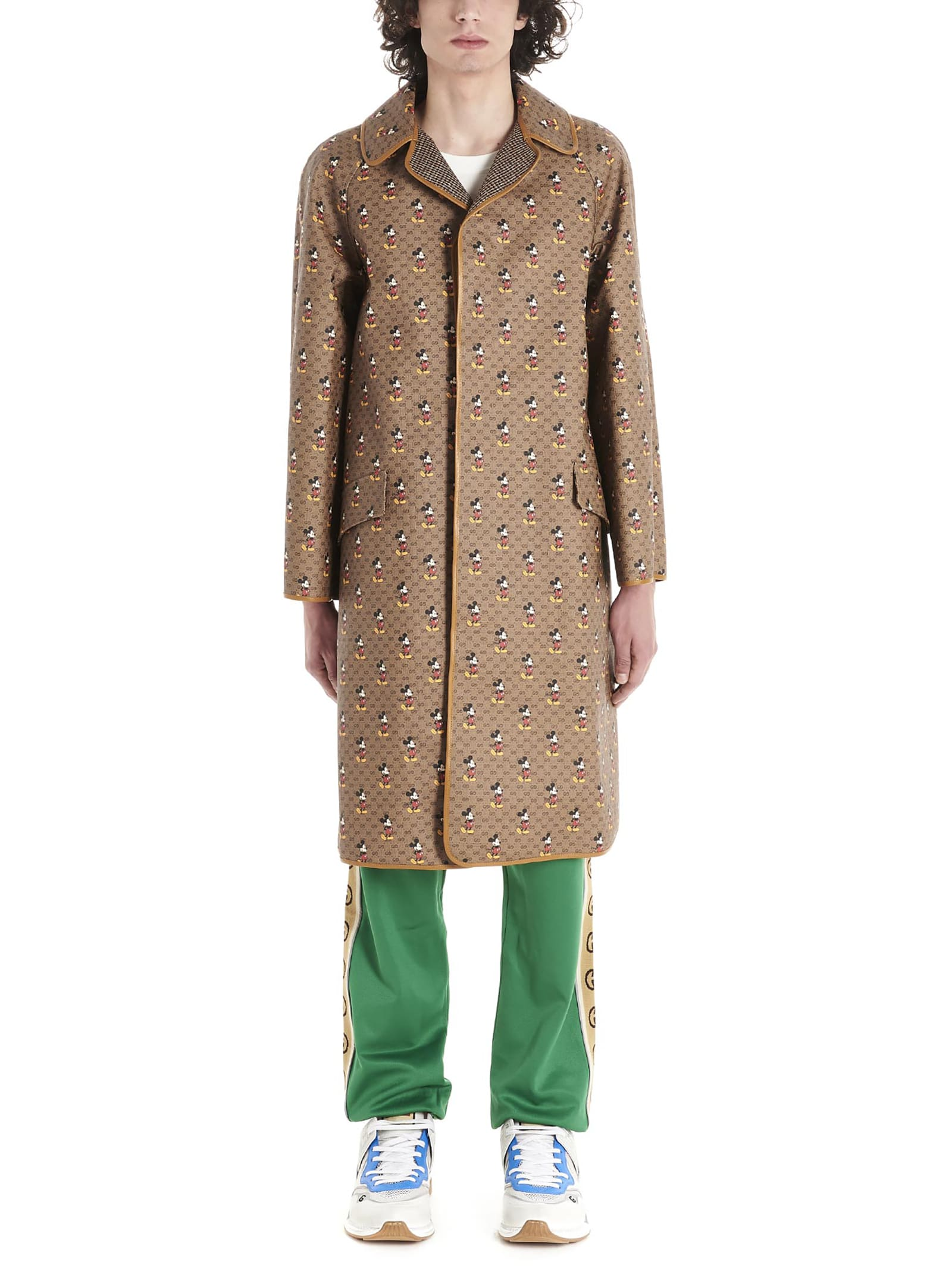 Gucci mickey Mouse Trench