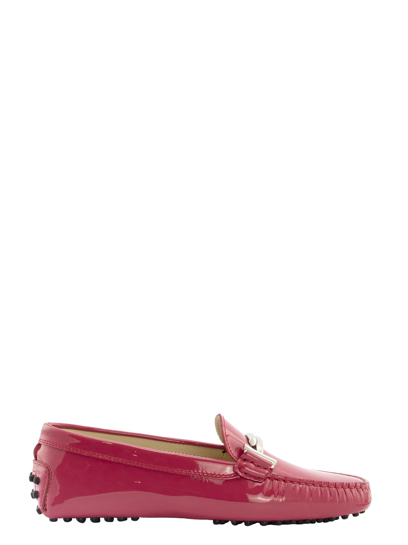 Tods Gommino Driving Shoes In Patent Leather