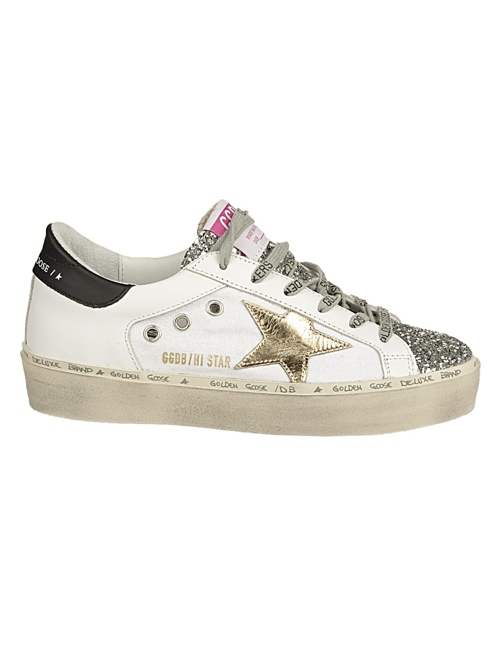 Hi Star Canvas And Leather Upper Laminated Star Le
