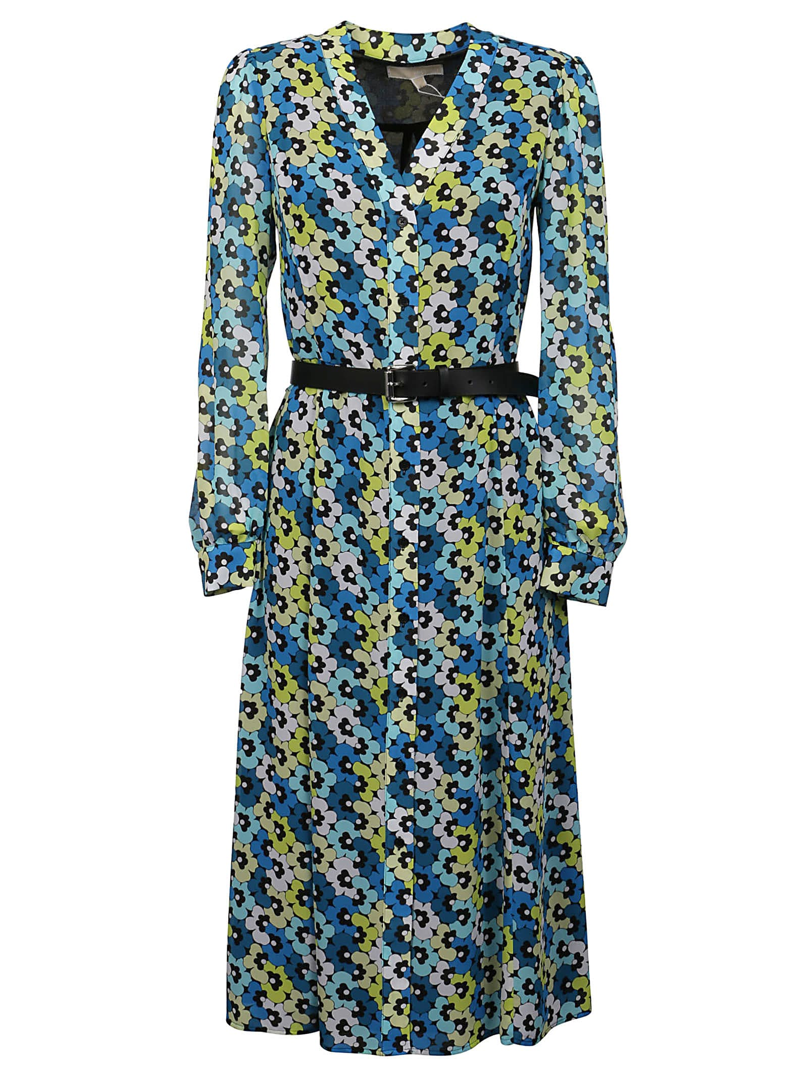 Buy Michael Kors Multi 60s Floral Kate Dress online, shop Michael Kors with free shipping