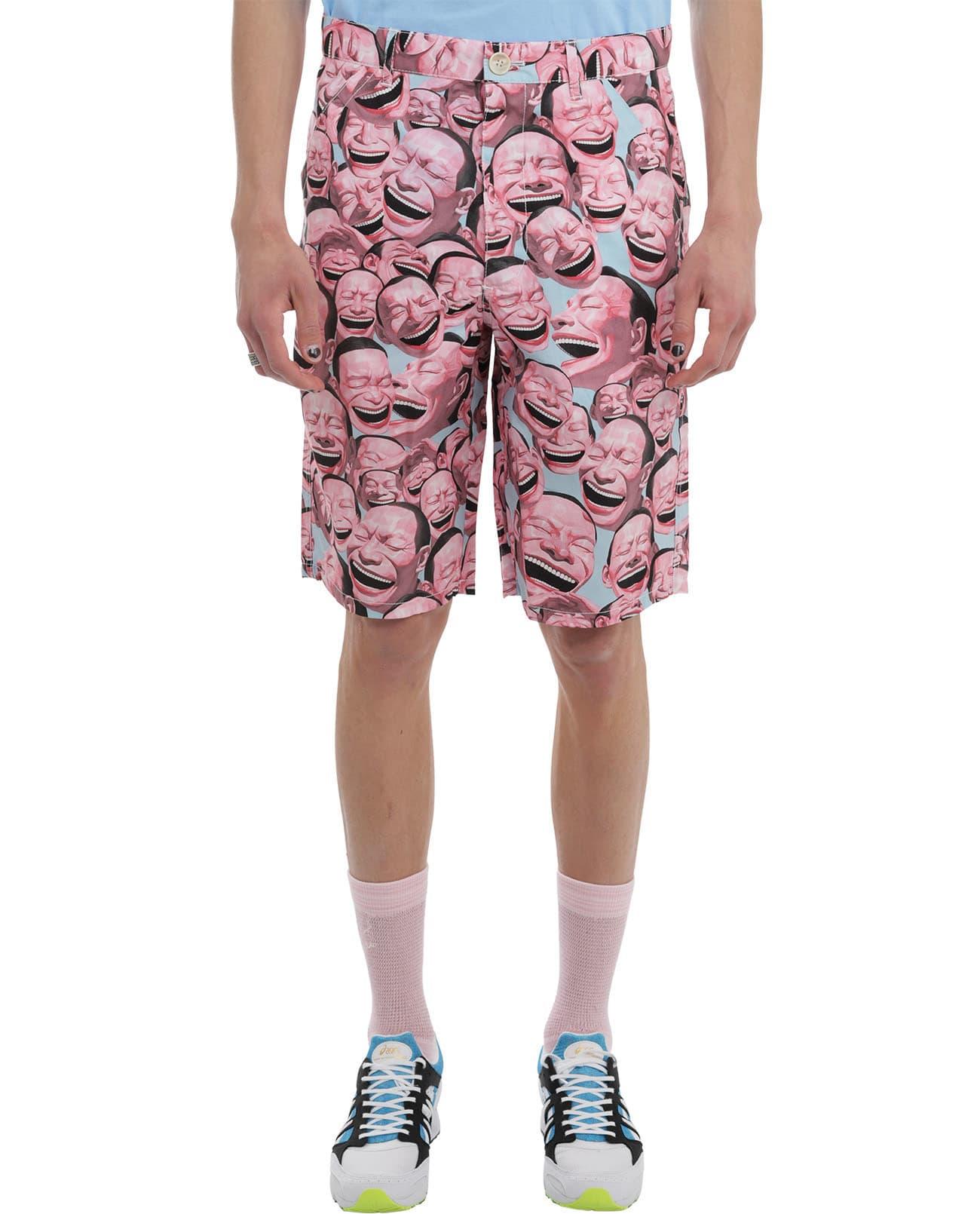 Comme Des Garçons Shirt Shorts COMME DES GARCONS SHIRT YUE MINJUN BERMUDAS