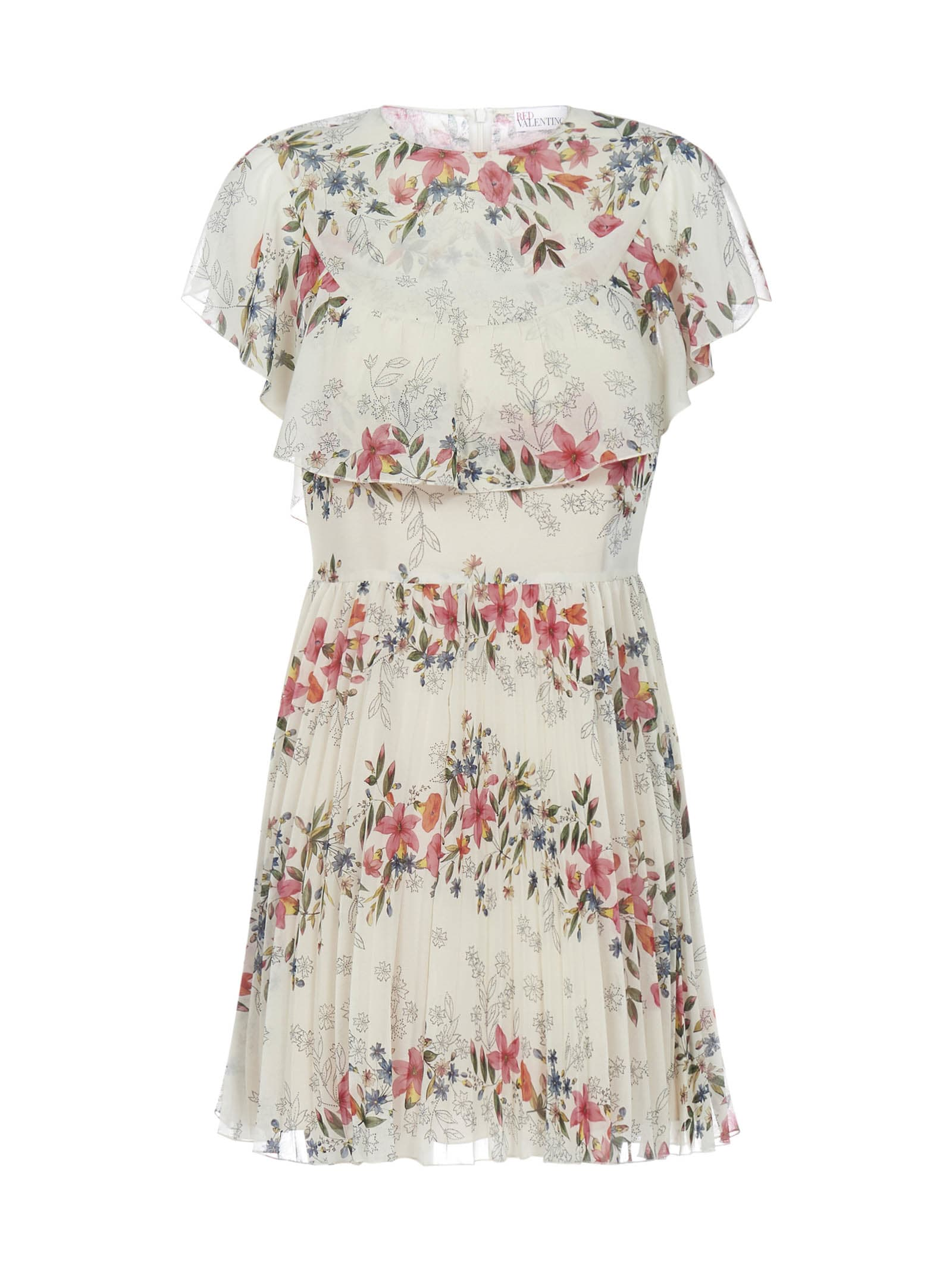 Buy RED Valentino Stampa Balze Floreale Dress online, shop RED Valentino with free shipping