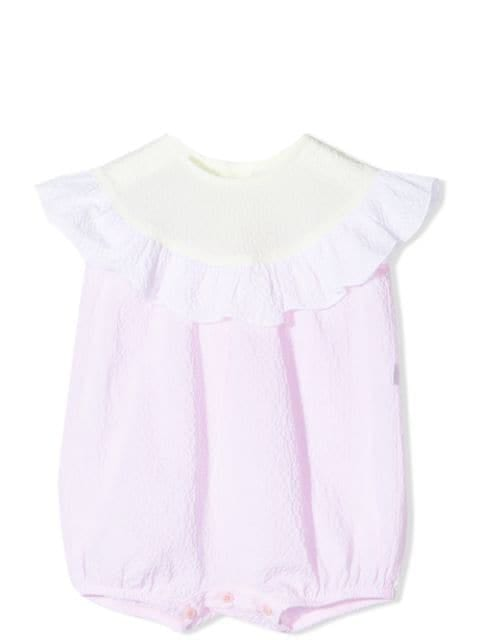 Il Gufo Climbing clotheses ROMPER WITH RUCHES