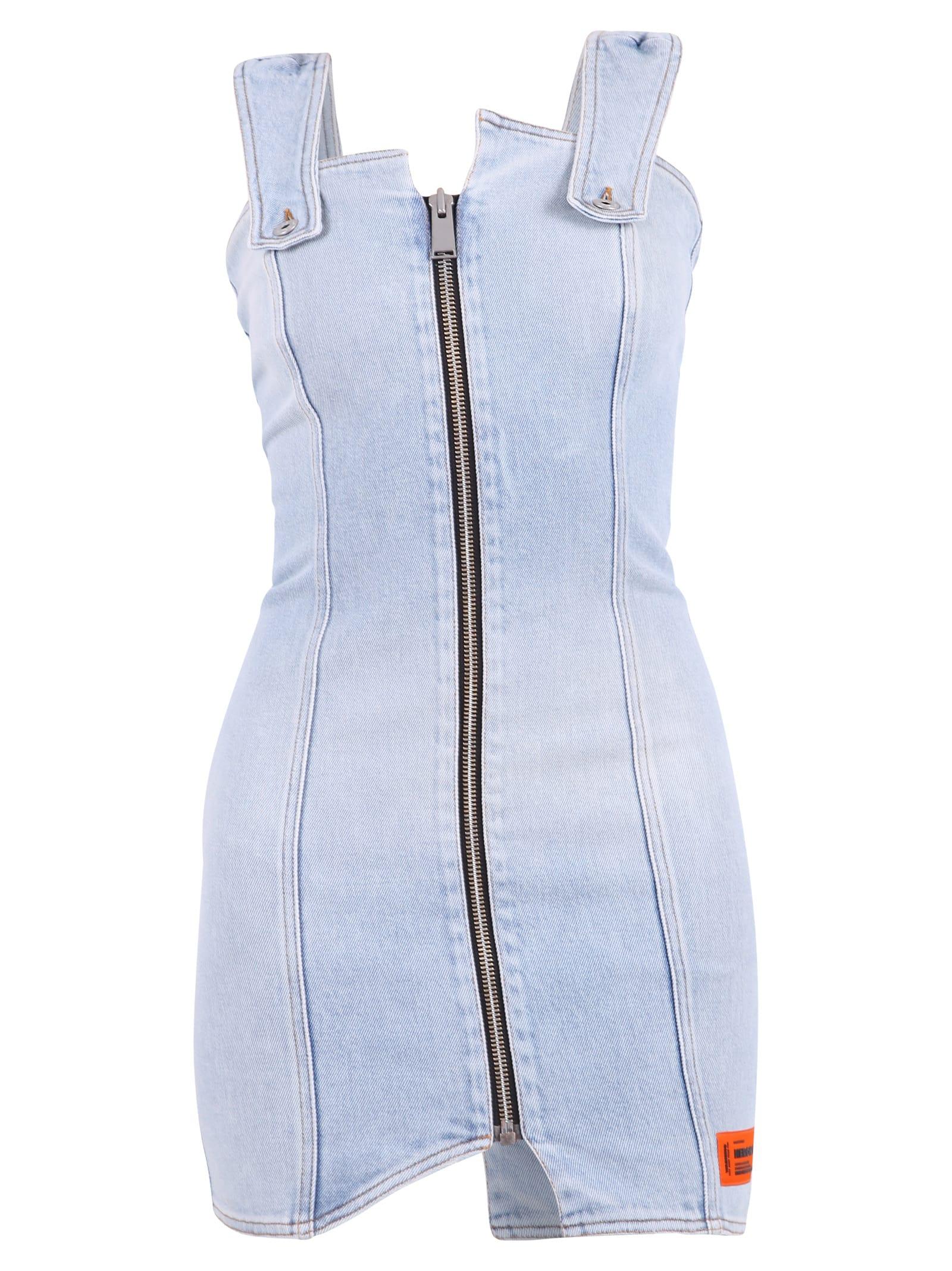 Buy HERON PRESTON Zipped Dress online, shop HERON PRESTON with free shipping