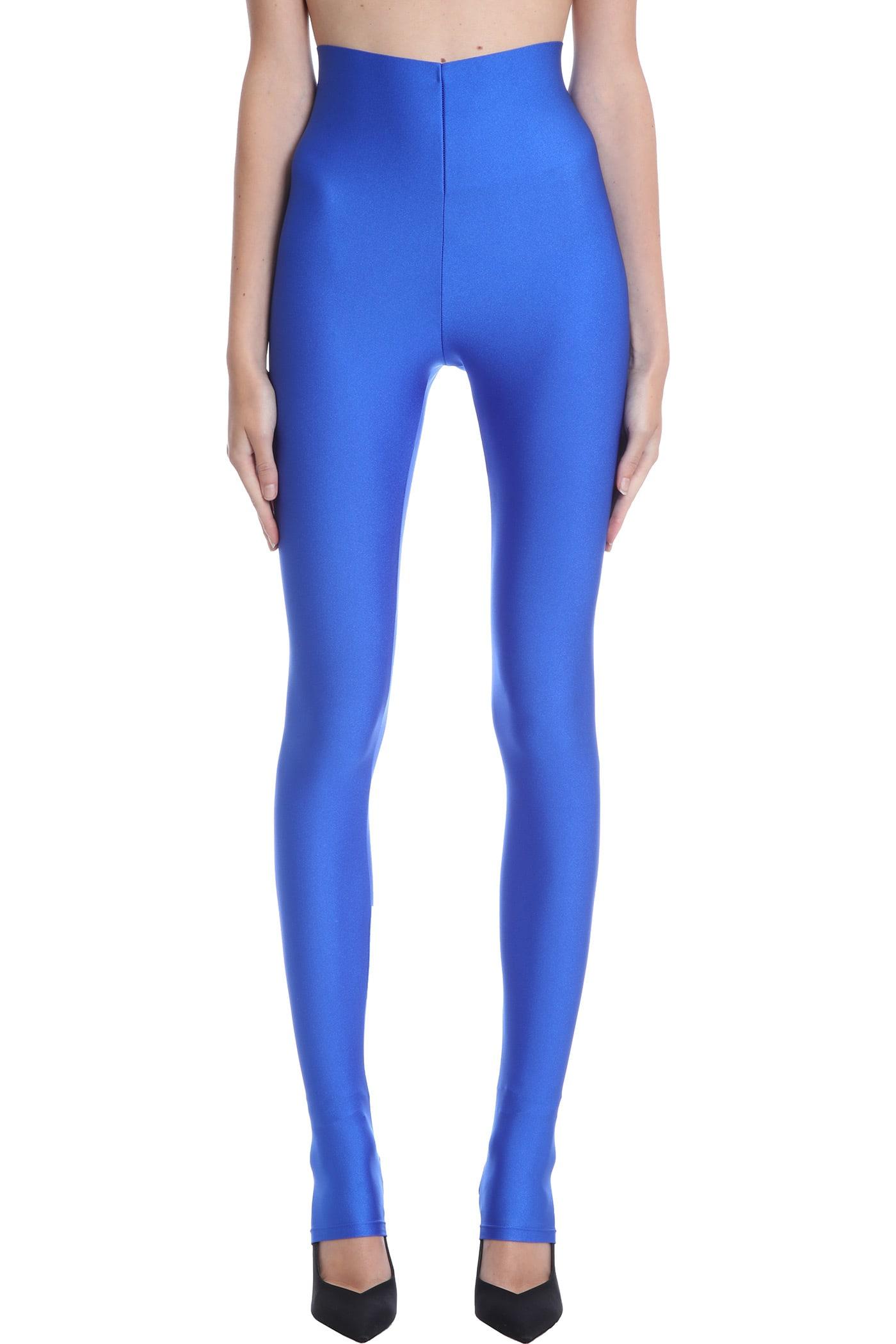 Holly Leggins In Blue Polyester
