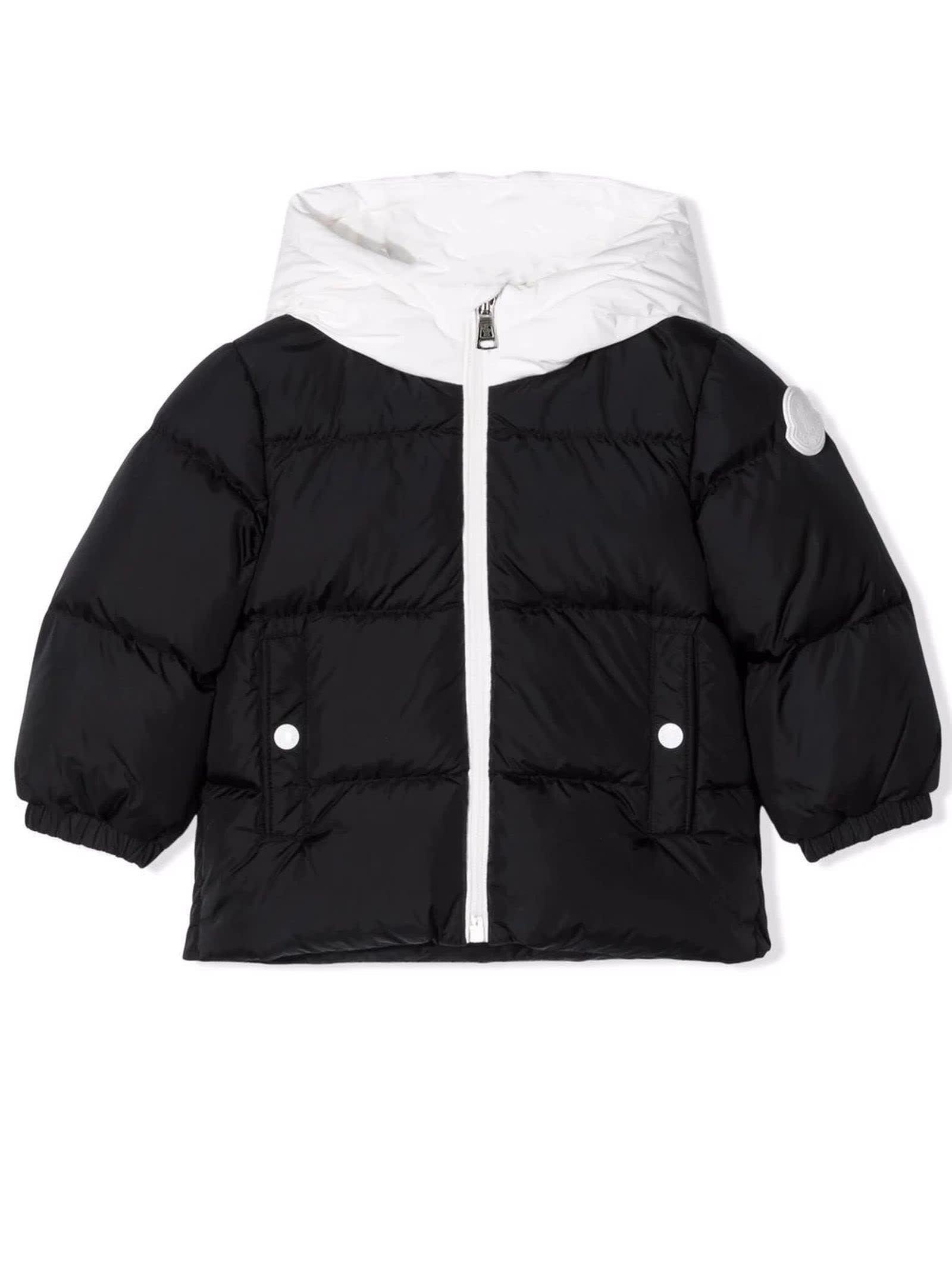 Moncler Black Feather Down Jacket