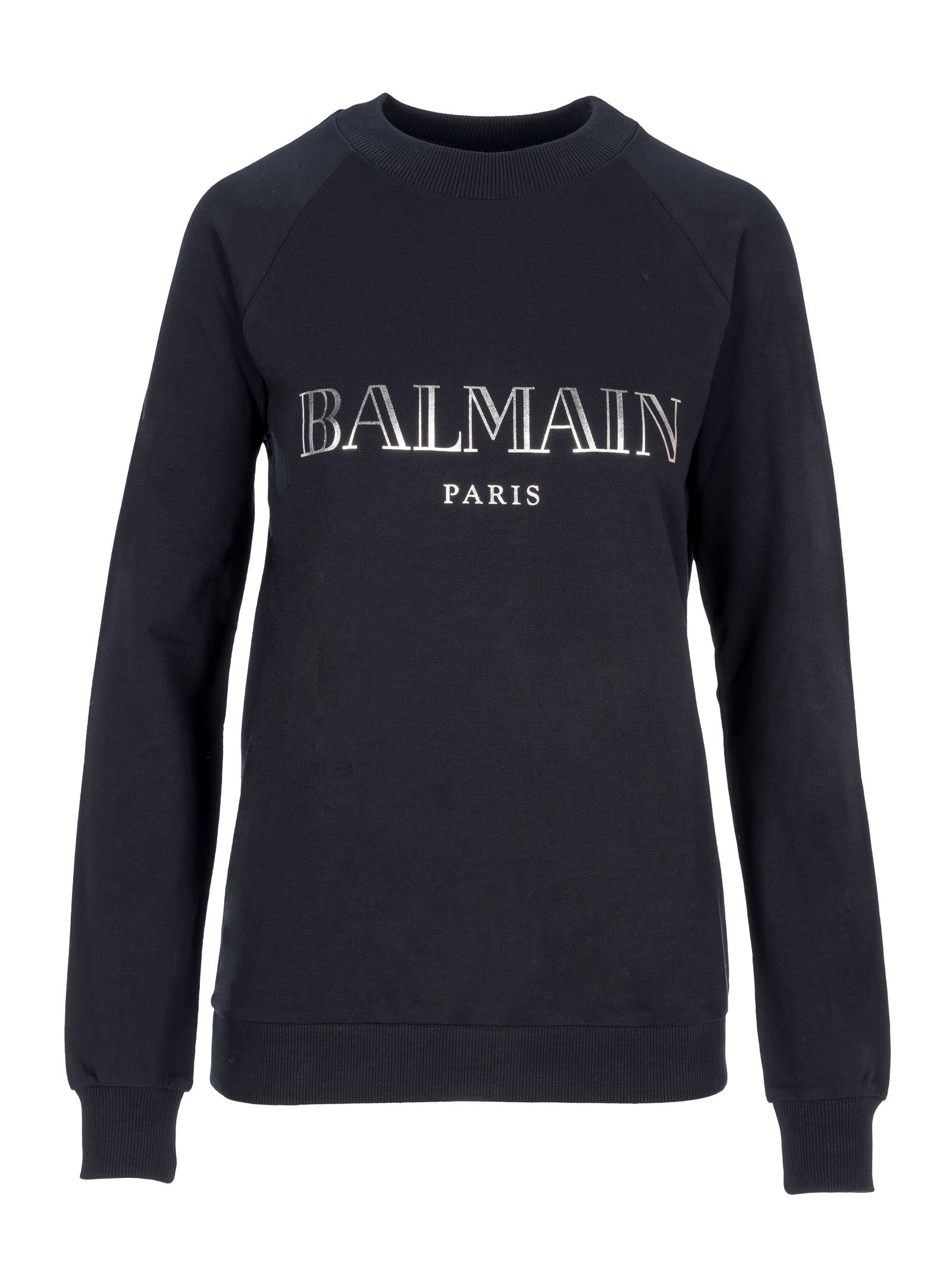 Balmain Shirts LOGO PRINT SWEATSHIRT