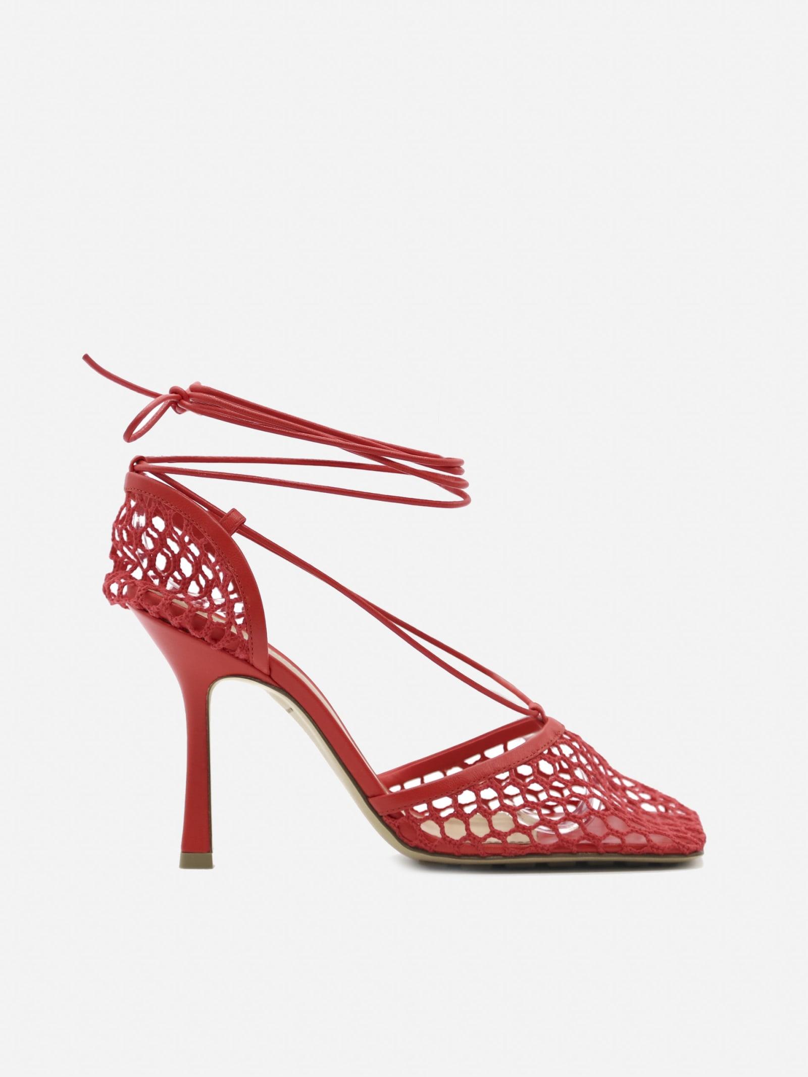 Buy Bottega Veneta Stretch Leather Sandals online, shop Bottega Veneta shoes with free shipping