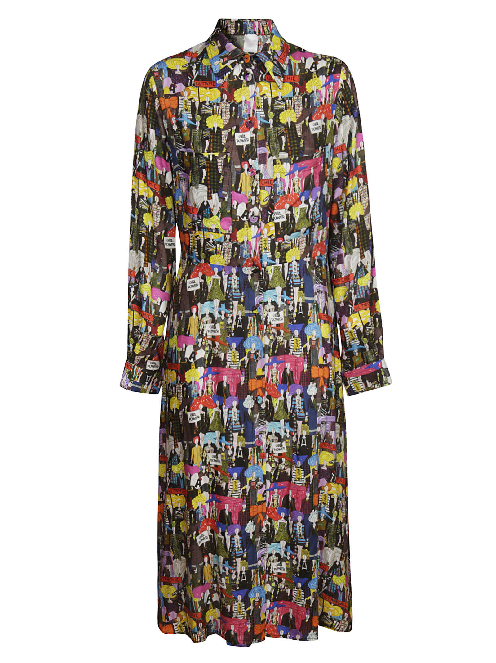 Ultrachic Printed Long Dress