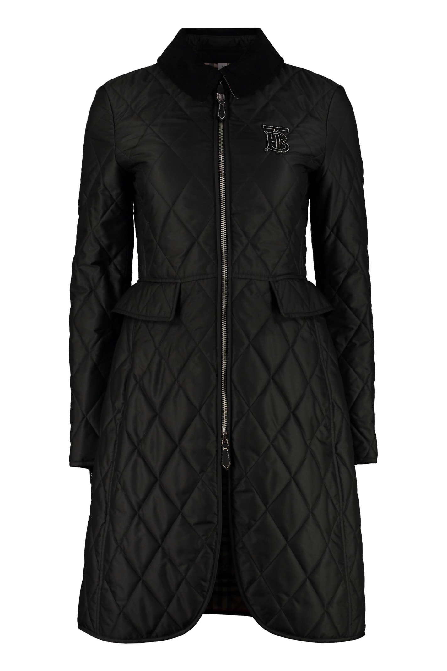 Burberry Quilted Riding-coat