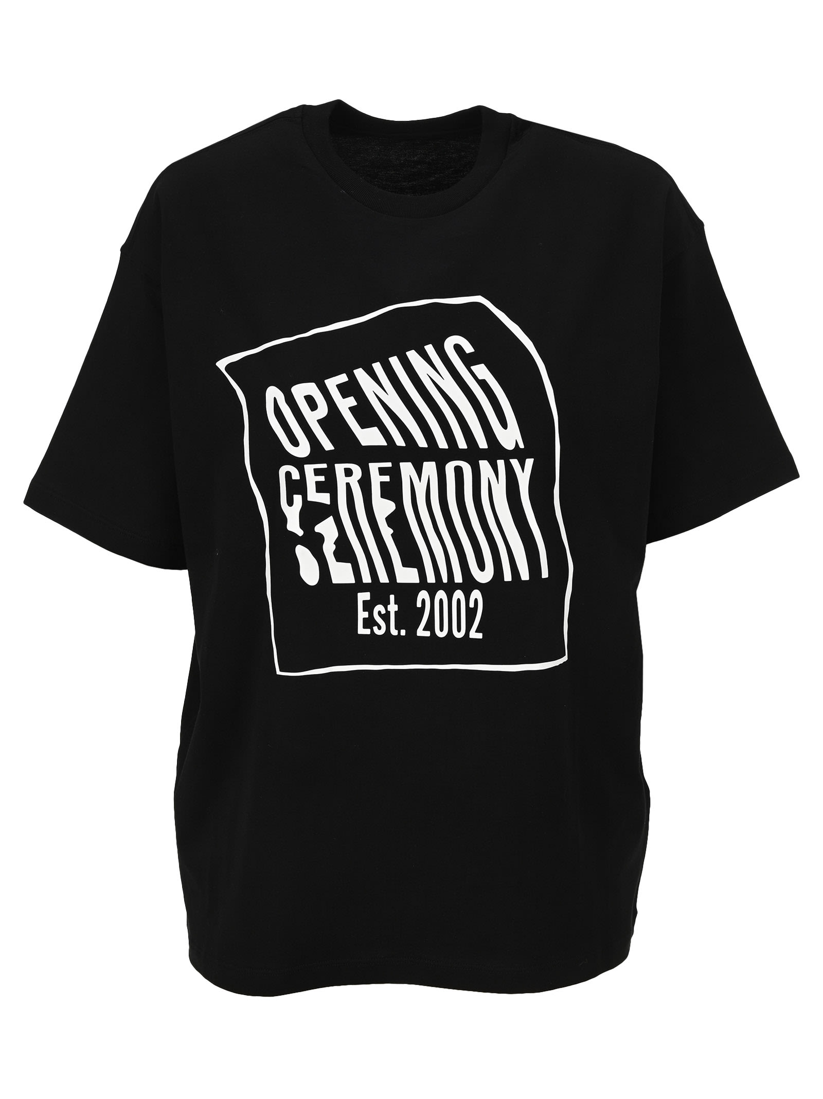 Opening Ceremony WOMENS WARPED LOGO S/S T-SHIRT