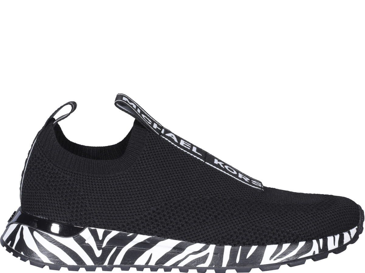 Buy Michael Michael Kors Bodie Slip On Sneakers online, shop MICHAEL Michael Kors shoes with free shipping