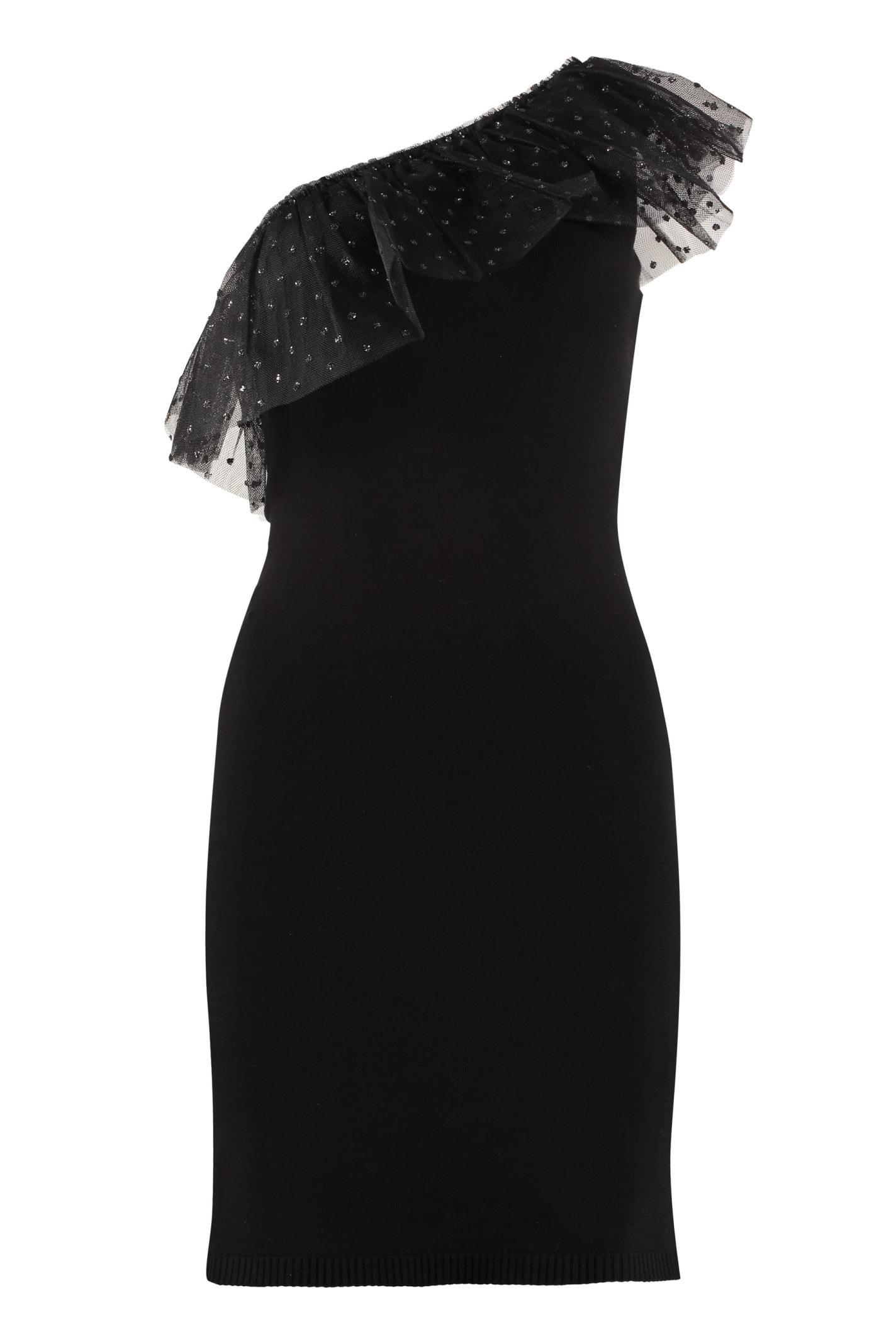 RED Valentino Asymmetric Knit Dress