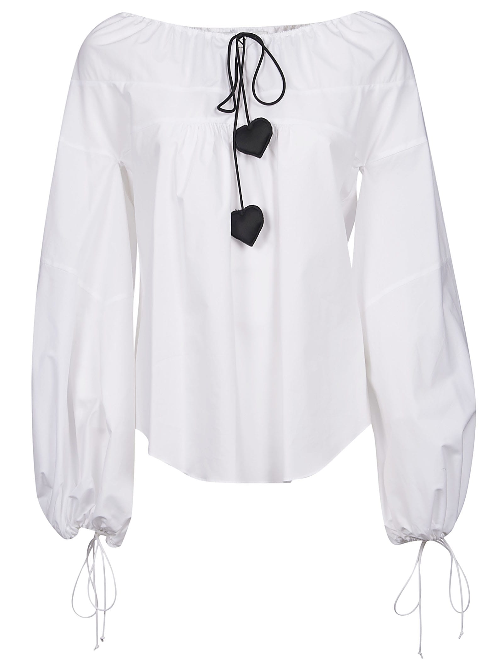 Lanvin Balloon-sleeved Blouse