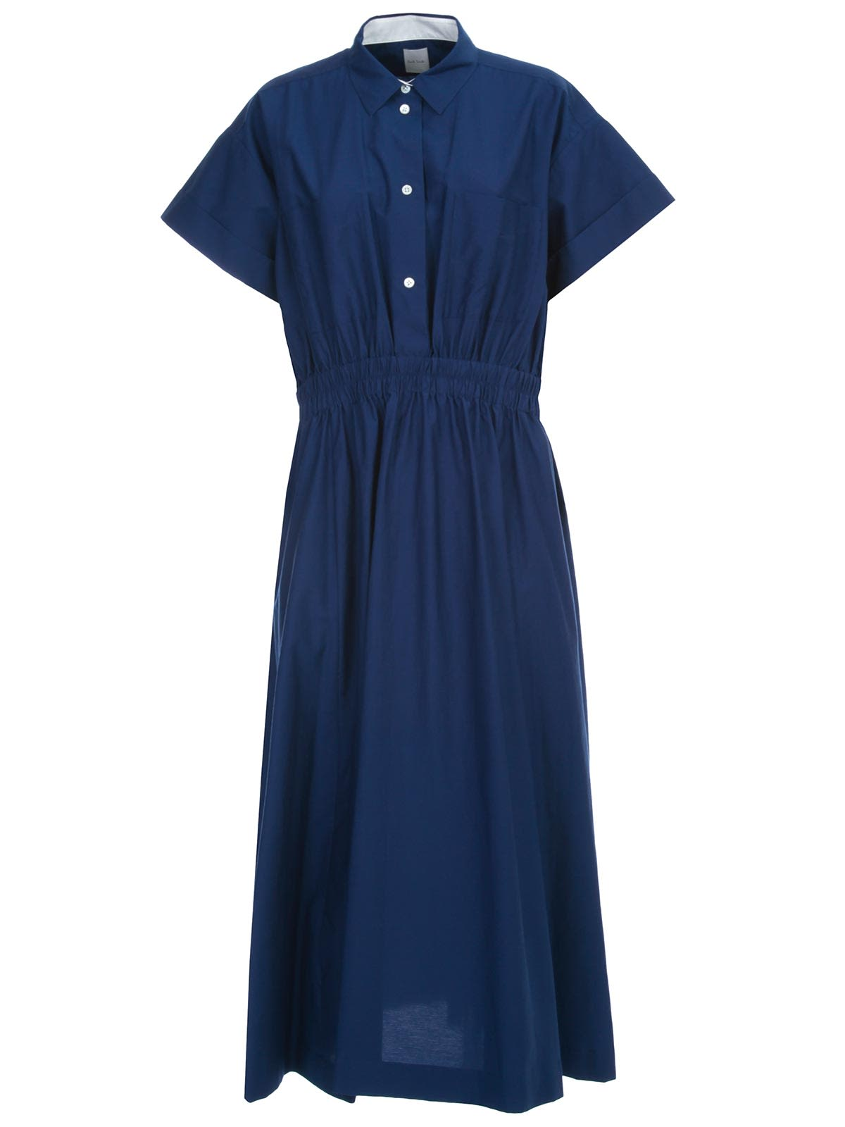 Buy Paul Smith Dress S/s Chemisier Elastic Waist online, shop Paul Smith with free shipping