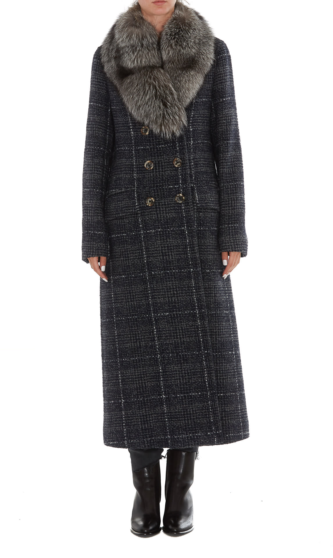 Ida Lou Coat With Fur Collar