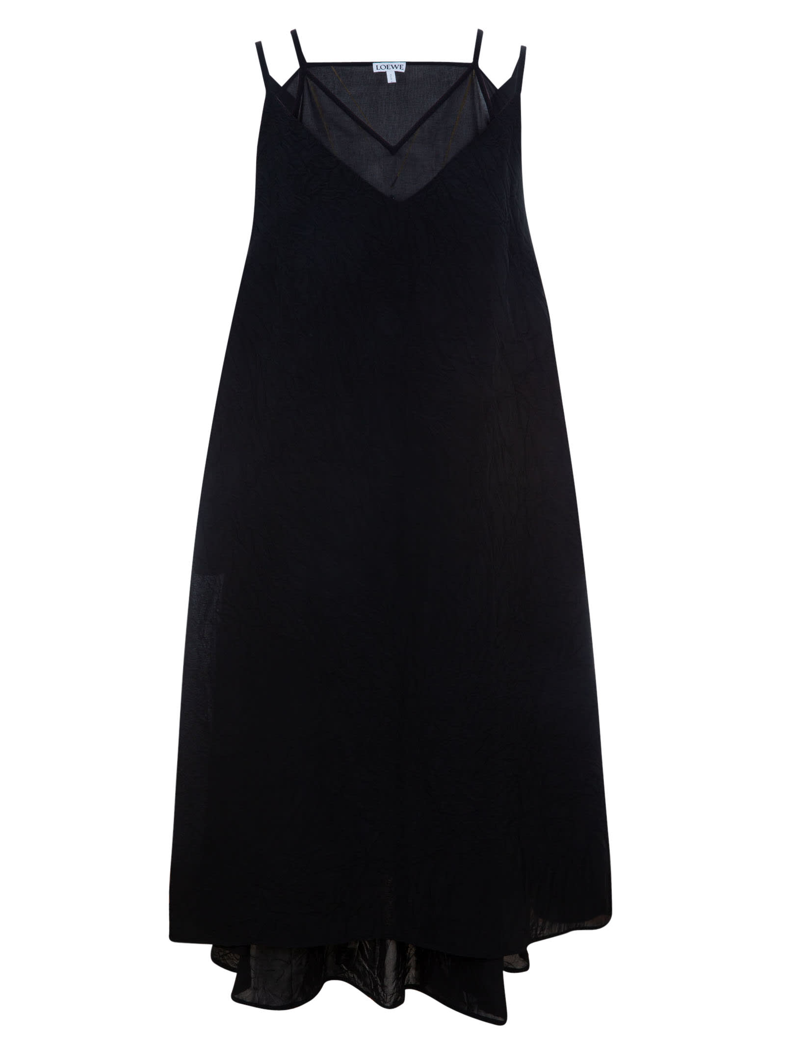 Buy Loewe Double Layer Dress online, shop Loewe with free shipping