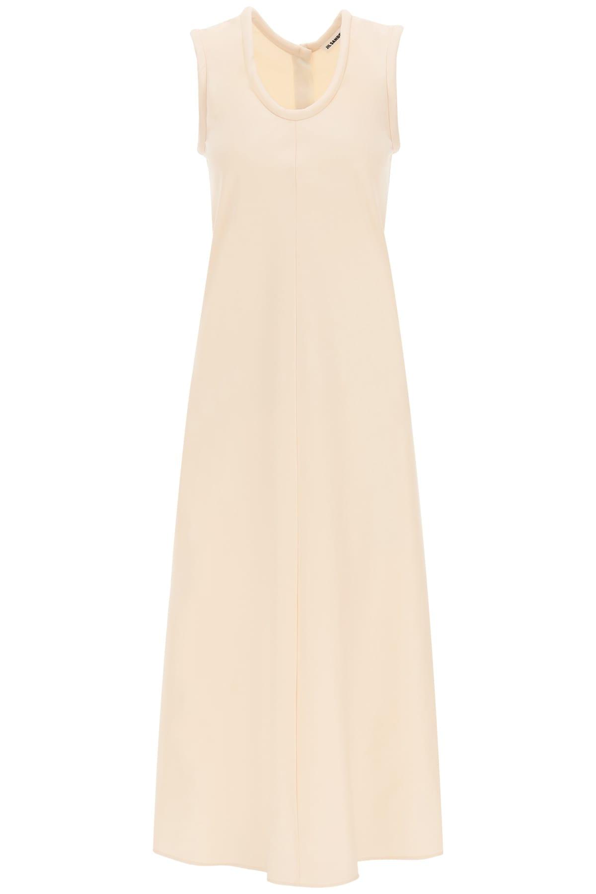 Buy Jil Sander Long Satin Dress online, shop Jil Sander with free shipping
