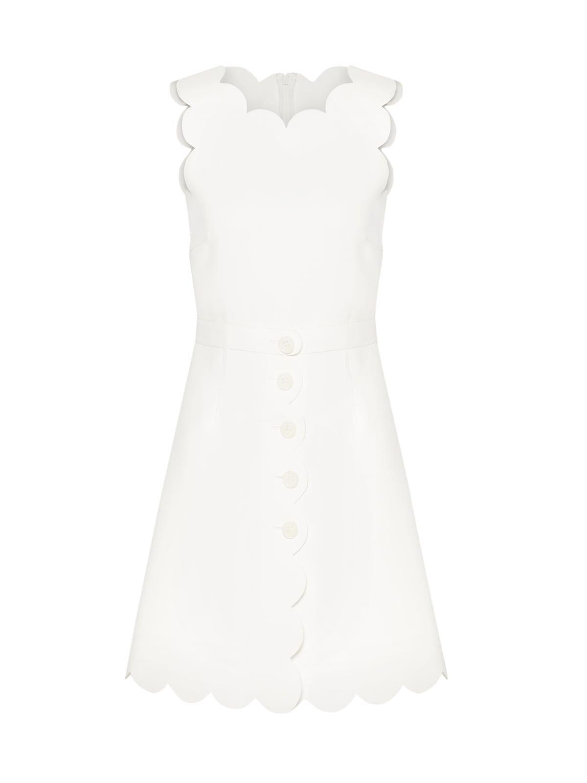 Buy Bicolor Tech Dress online, shop RED Valentino with free shipping