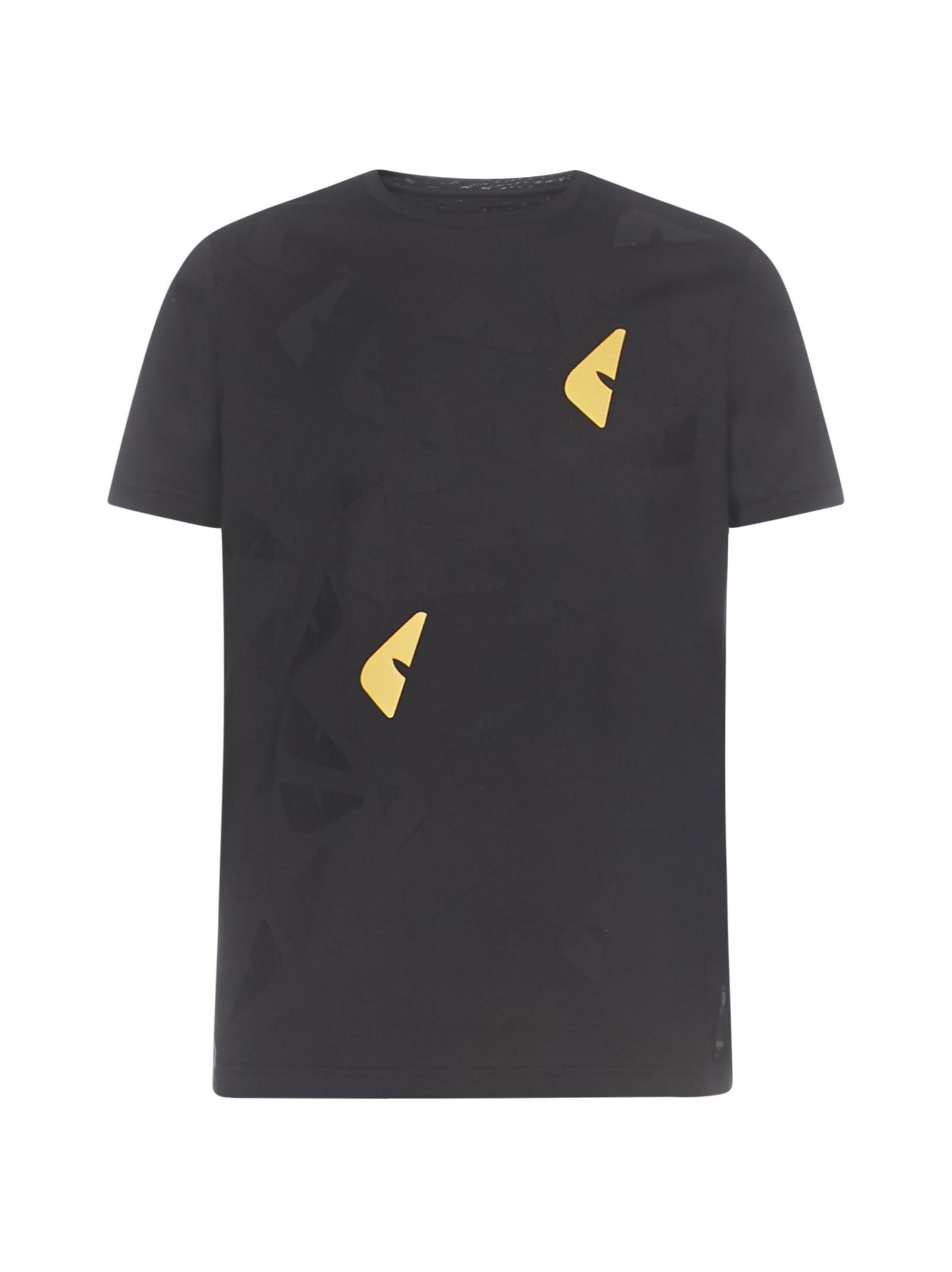 Fendi Roundneck Short Sleeve T-shirt