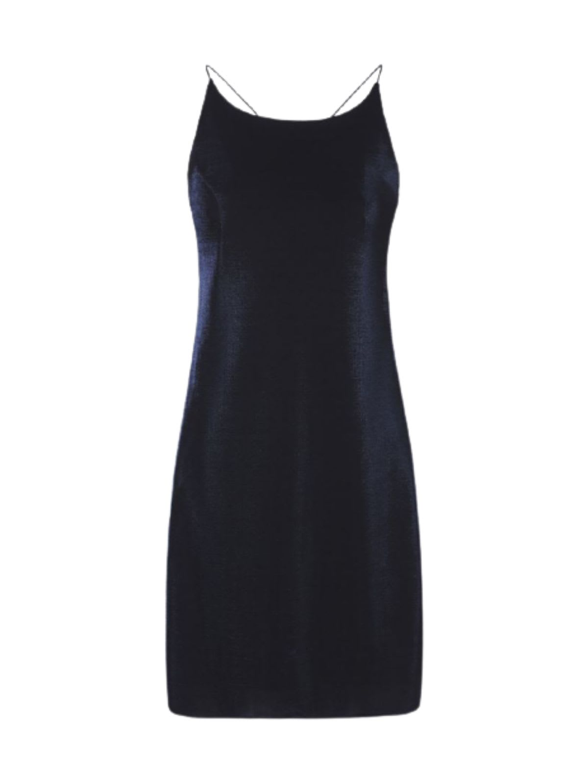 Buy Lurex Short Thin Strap Dress online, shop Emporio Armani with free shipping