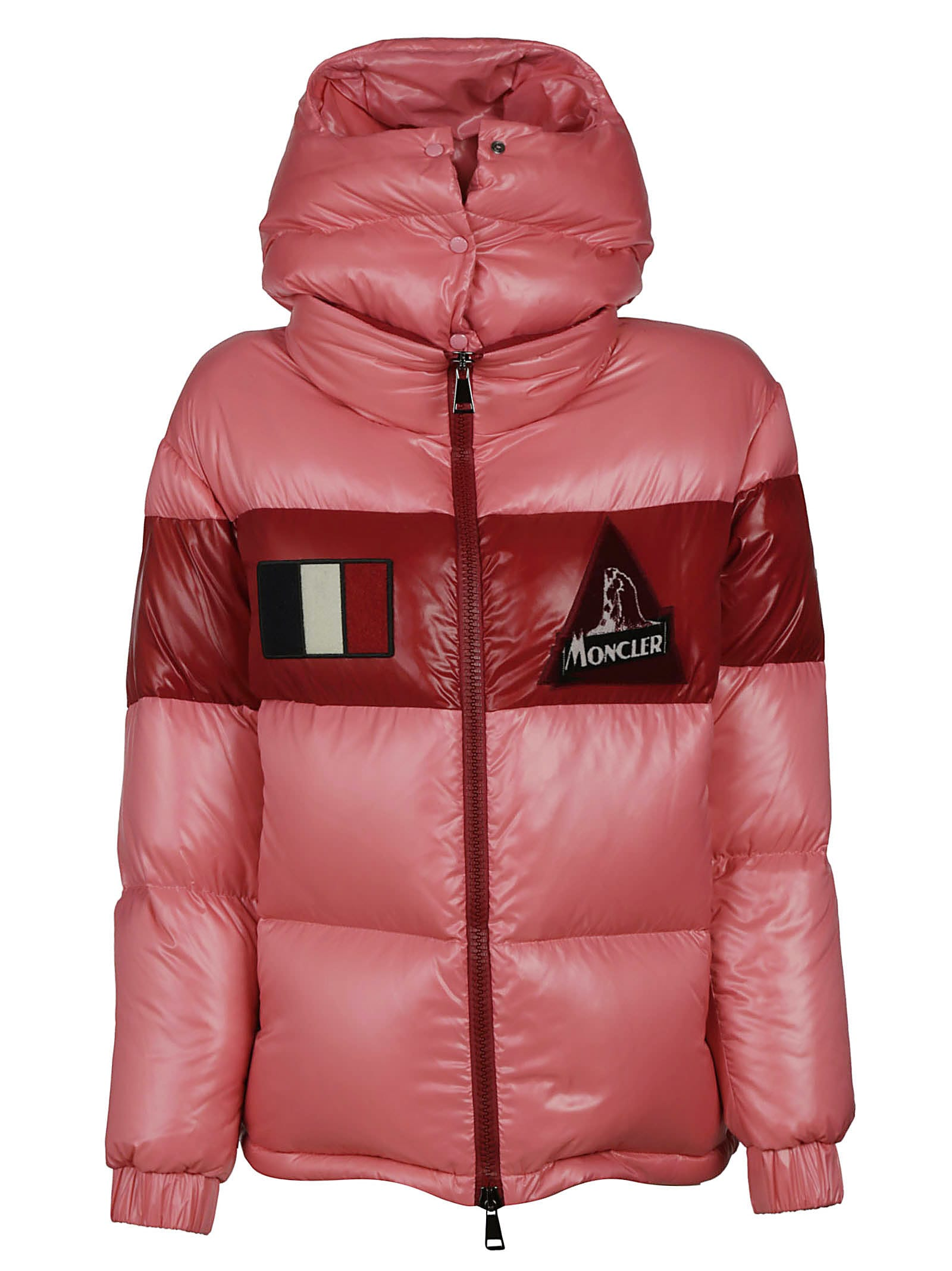 Moncler Gary Buttoned Hood Padded Jacket
