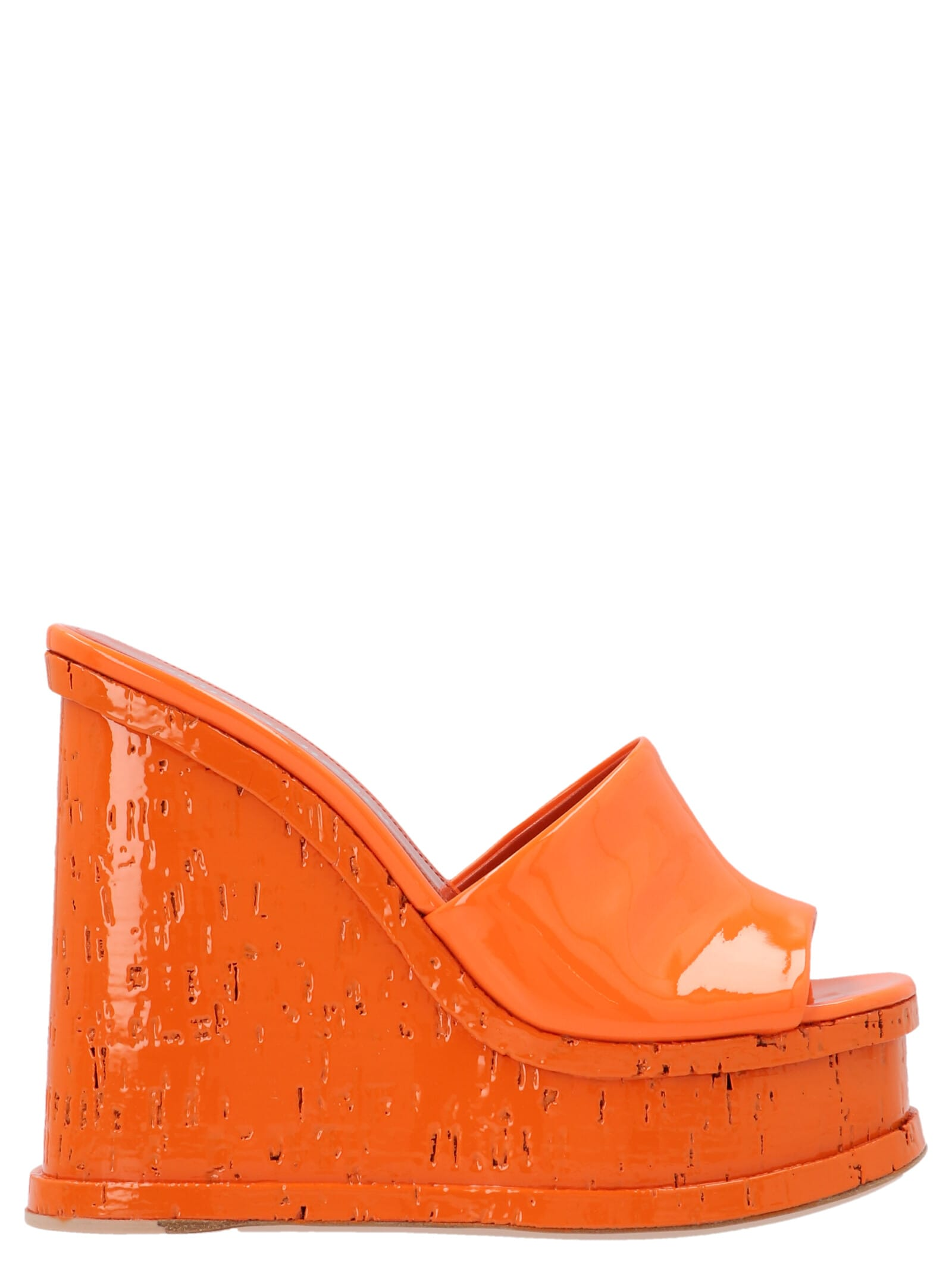 laquer Doll Wedges