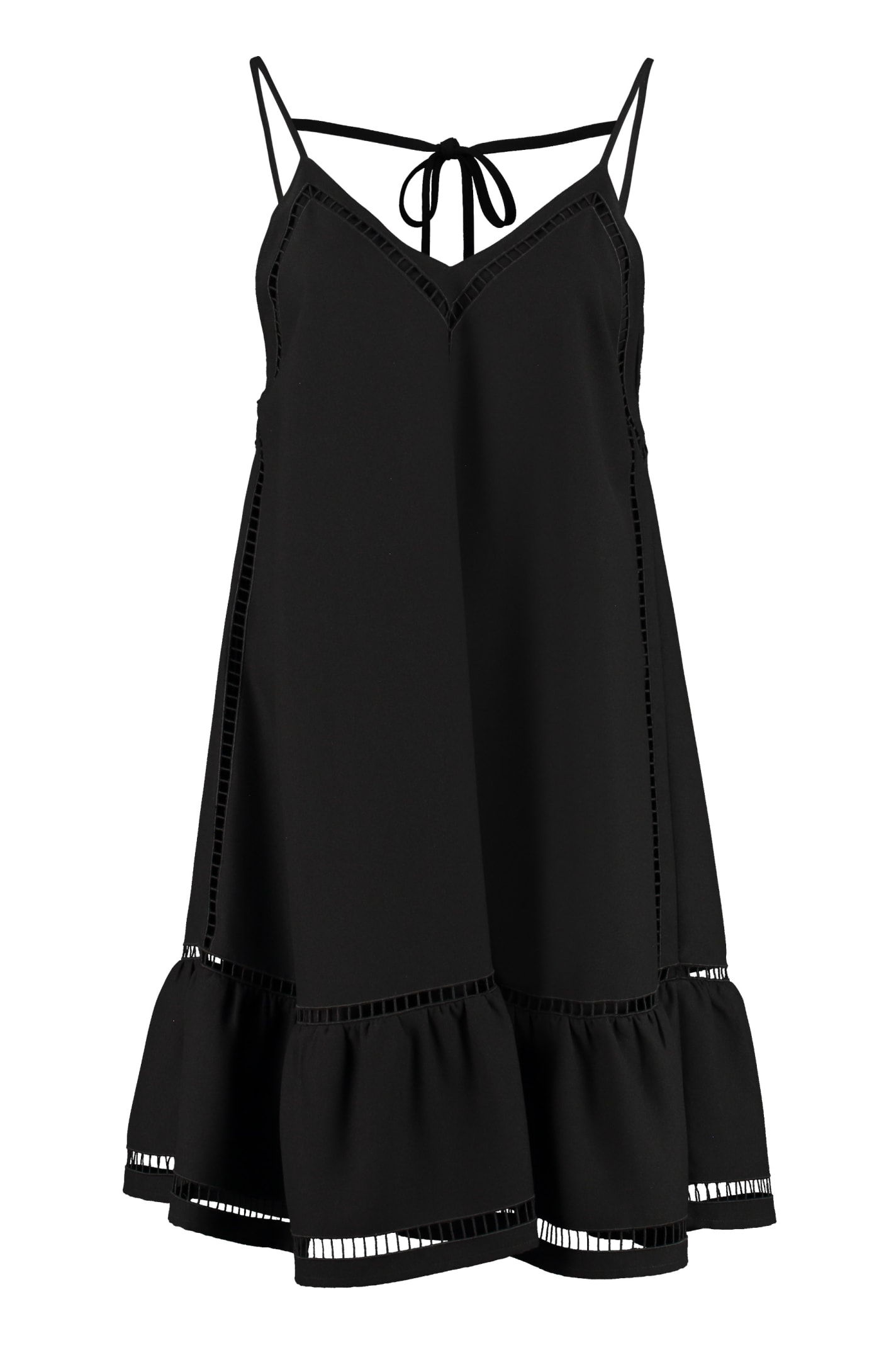 Buy RED Valentino Embroidered Mini Dress online, shop RED Valentino with free shipping