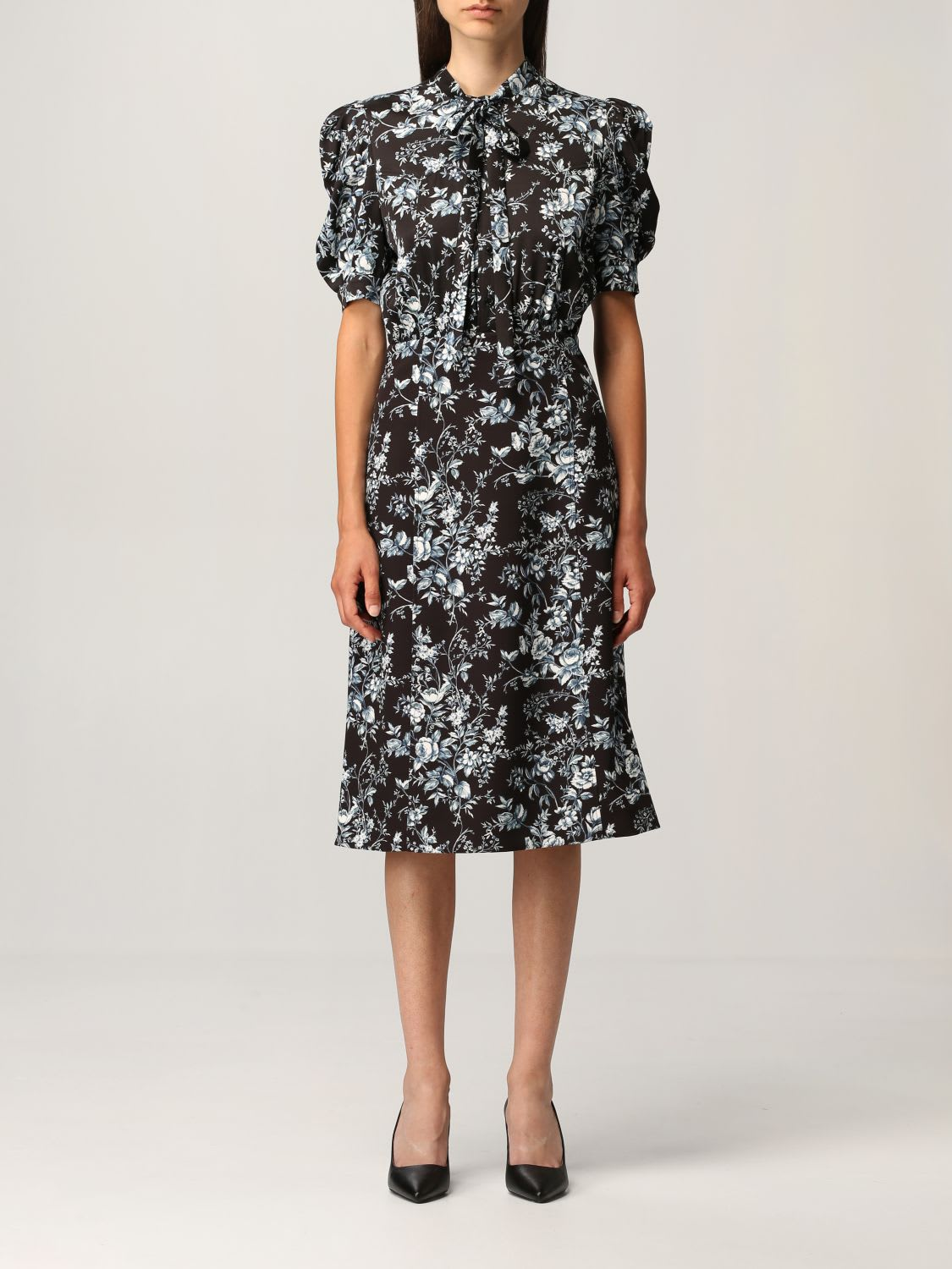 Boutique Moschino Dress Moschino Boutique Dress With Floral Print
