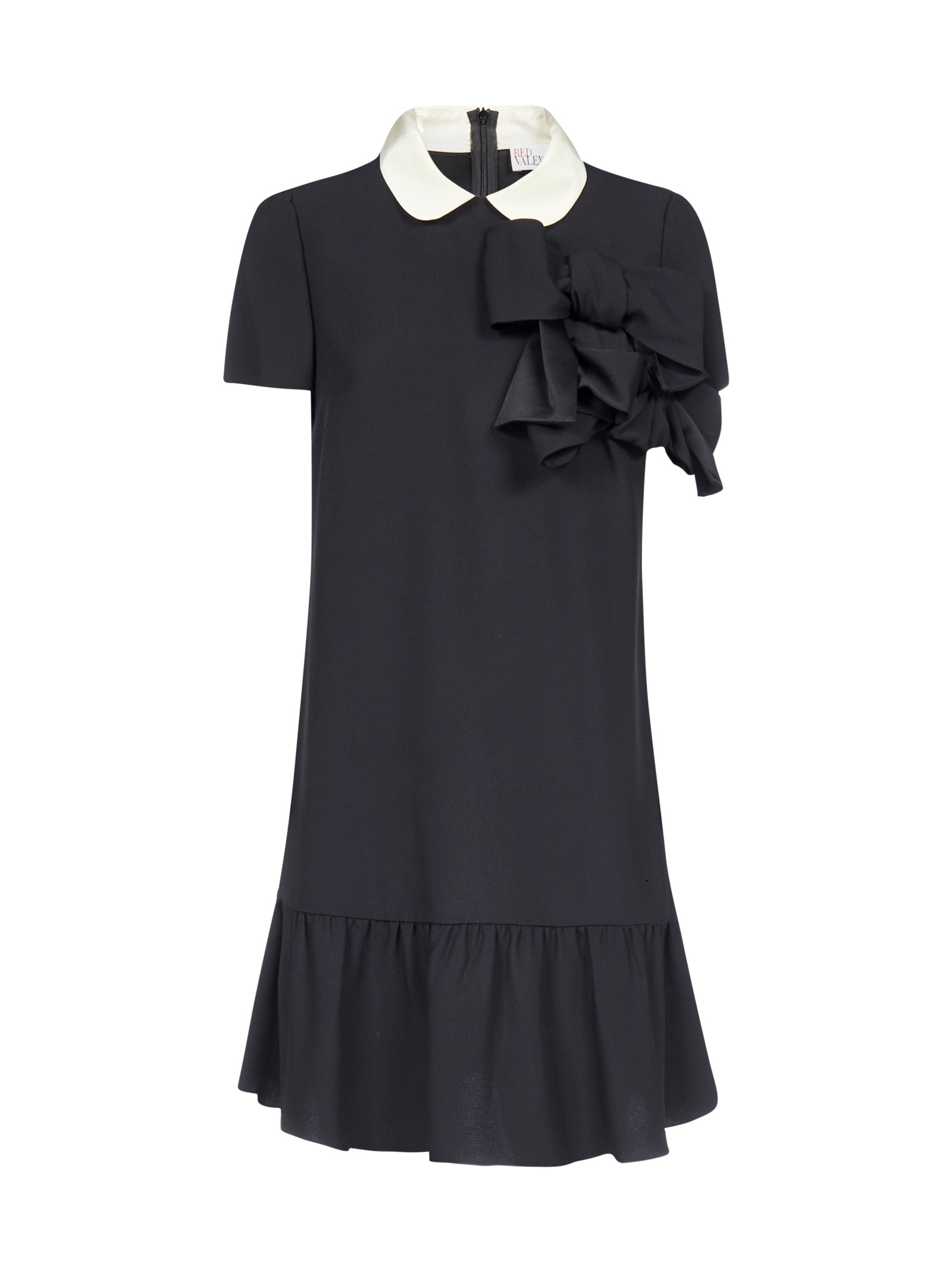Buy RED Valentino Bow-detail Viscose-blend Dress online, shop RED Valentino with free shipping
