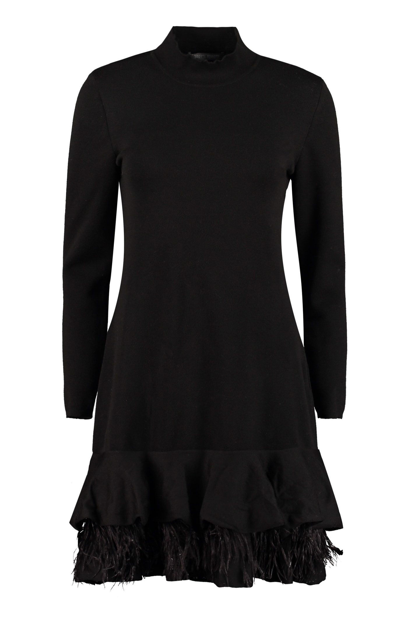 Alberta Ferretti Knitted Mini-dress
