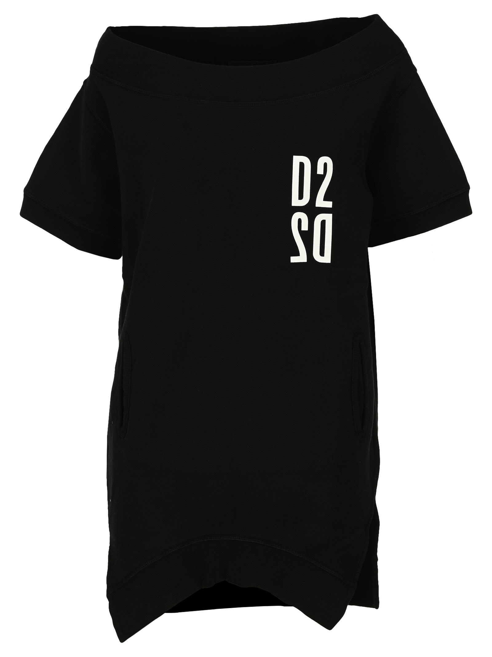 Dsquared2 D Squared Logo-print Sweatshirt Mini Dress