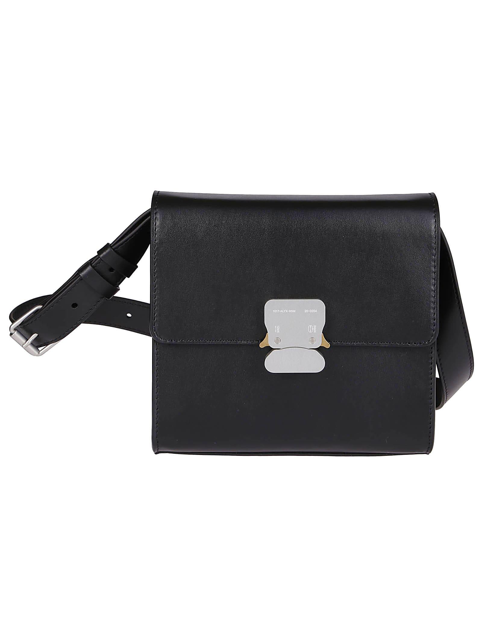 Alyx Bags BLACK LEATHER SHOULDER BAG