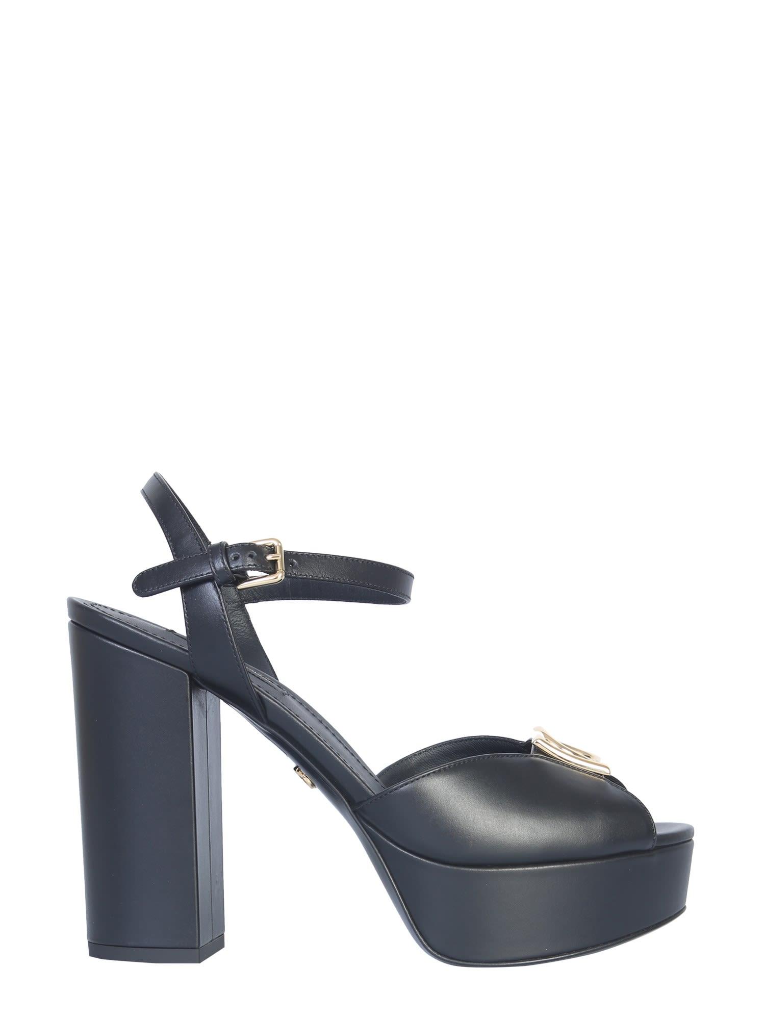Dolce & Gabbana Sandal With Plateau