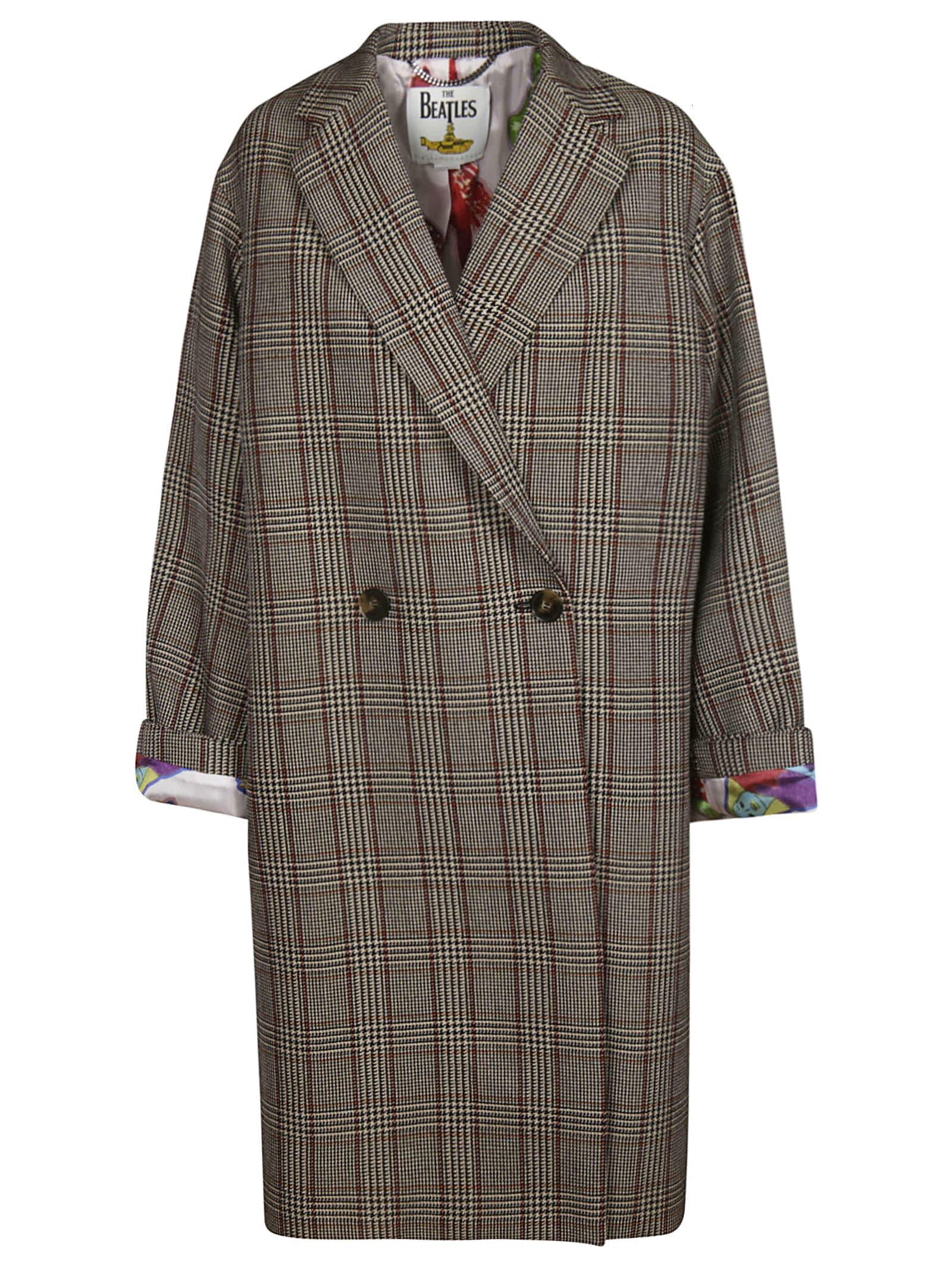 Photo of  Stella McCartney Prince Of Wales Coat- shop Stella McCartney jackets online sales