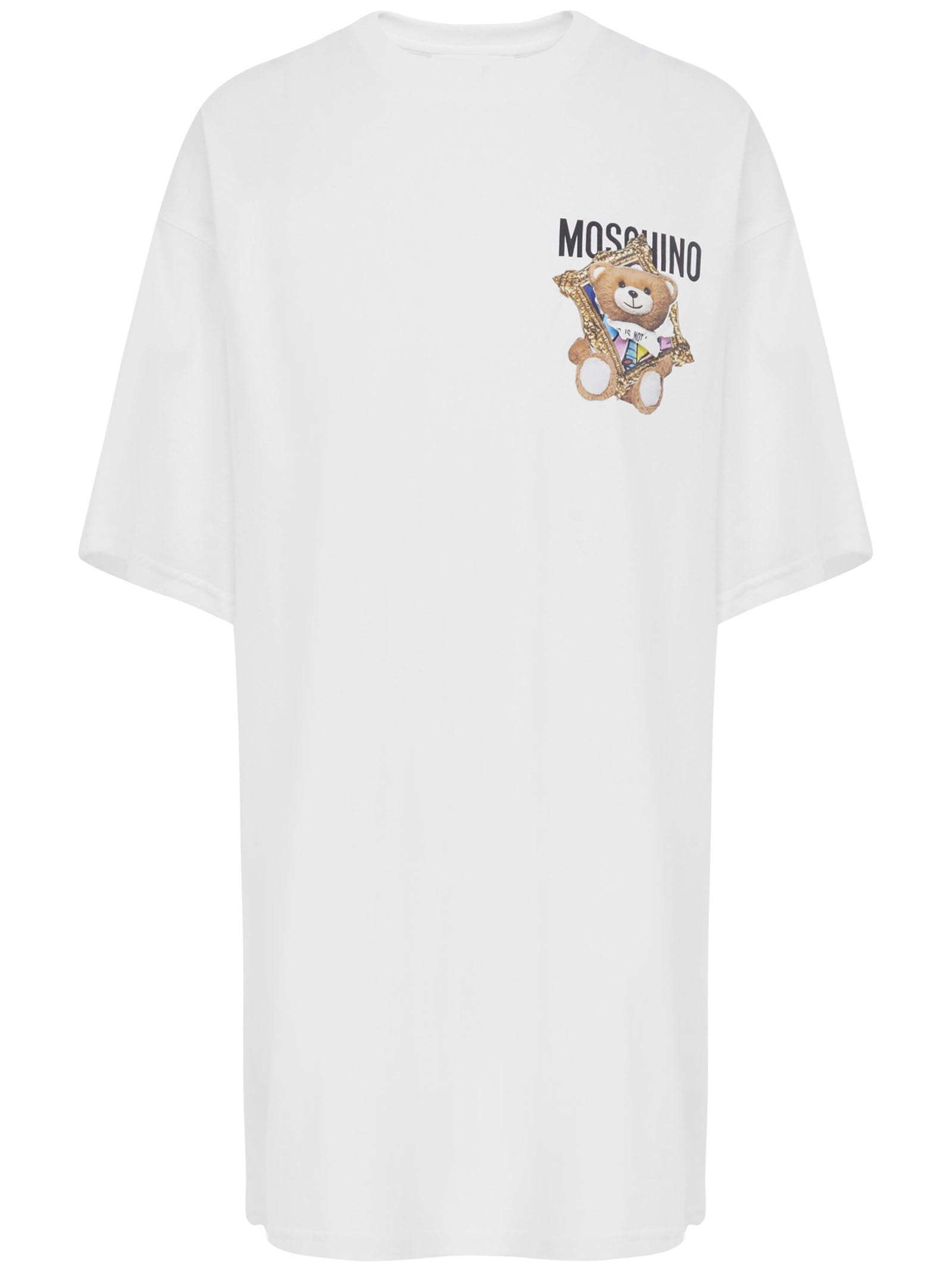Buy Moschino Frame Teddy Bear Dress online, shop Moschino with free shipping