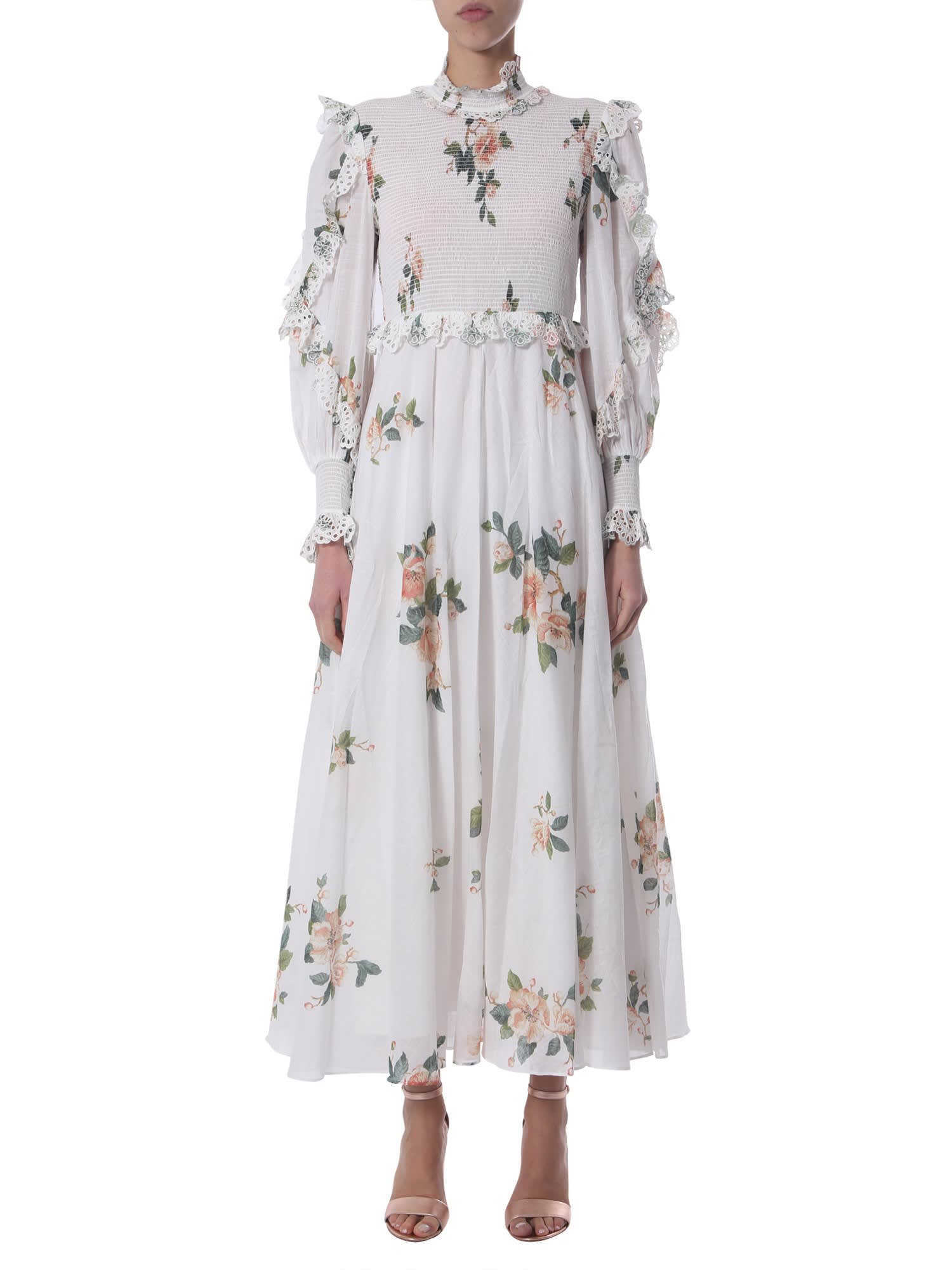 Buy Zimmermann Maxi Dress online, shop Zimmermann with free shipping
