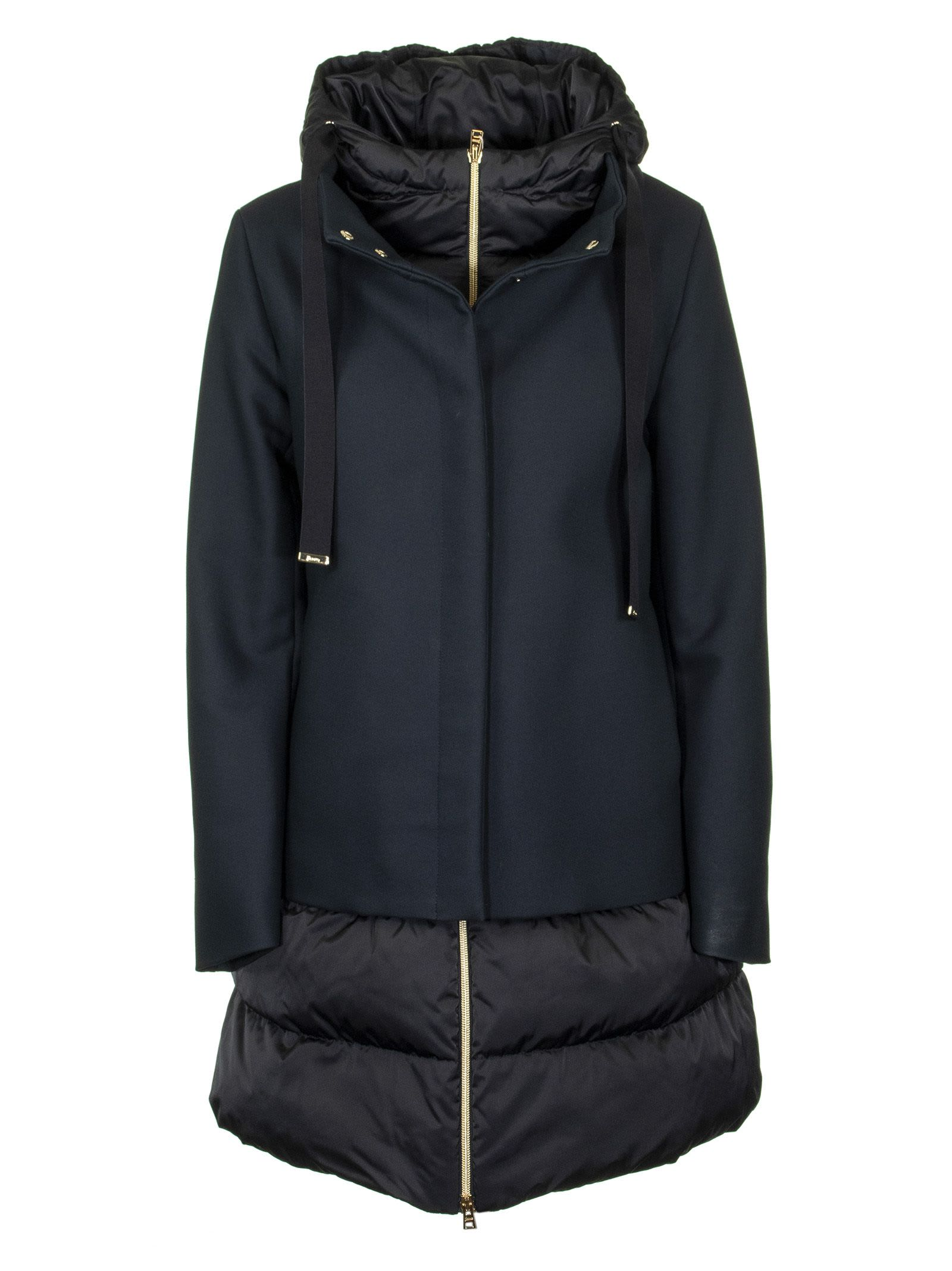 Herno Medium Length Down Jacket