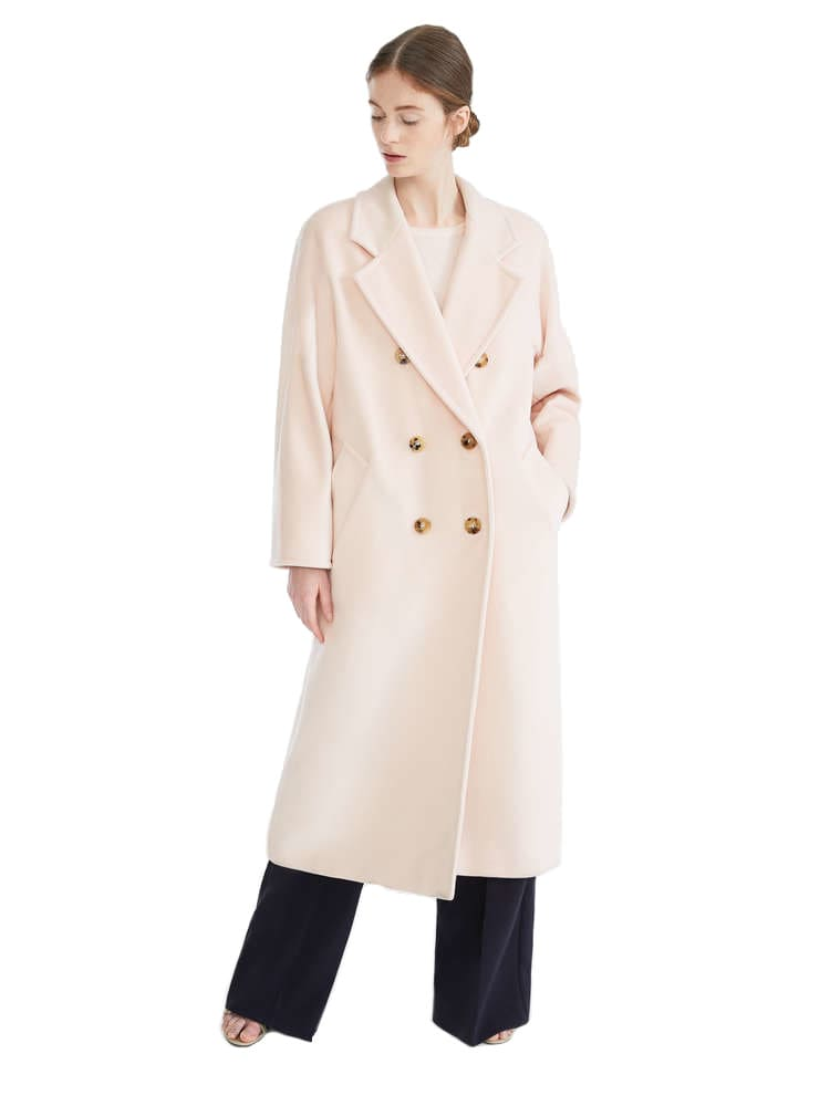 Max Mara Madame Doublebreasted Over Coat